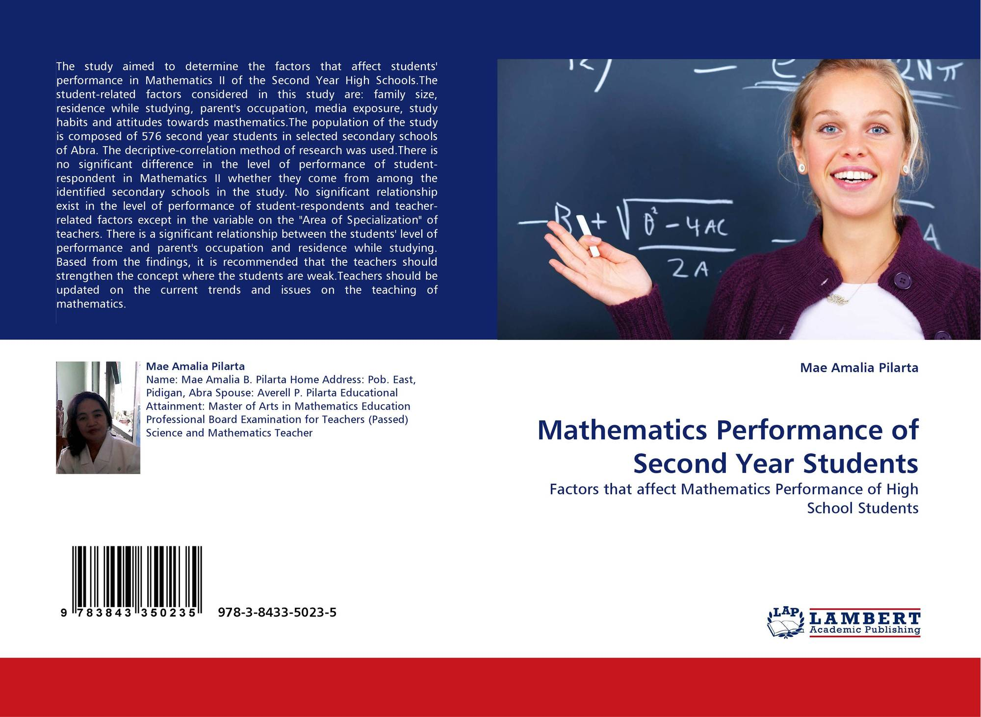 effect of instructional materials on the performance of student in mathematics in senior secondary s School quality factors and secondary school students' instructional materials and significantly to academic performance of secondary school students.