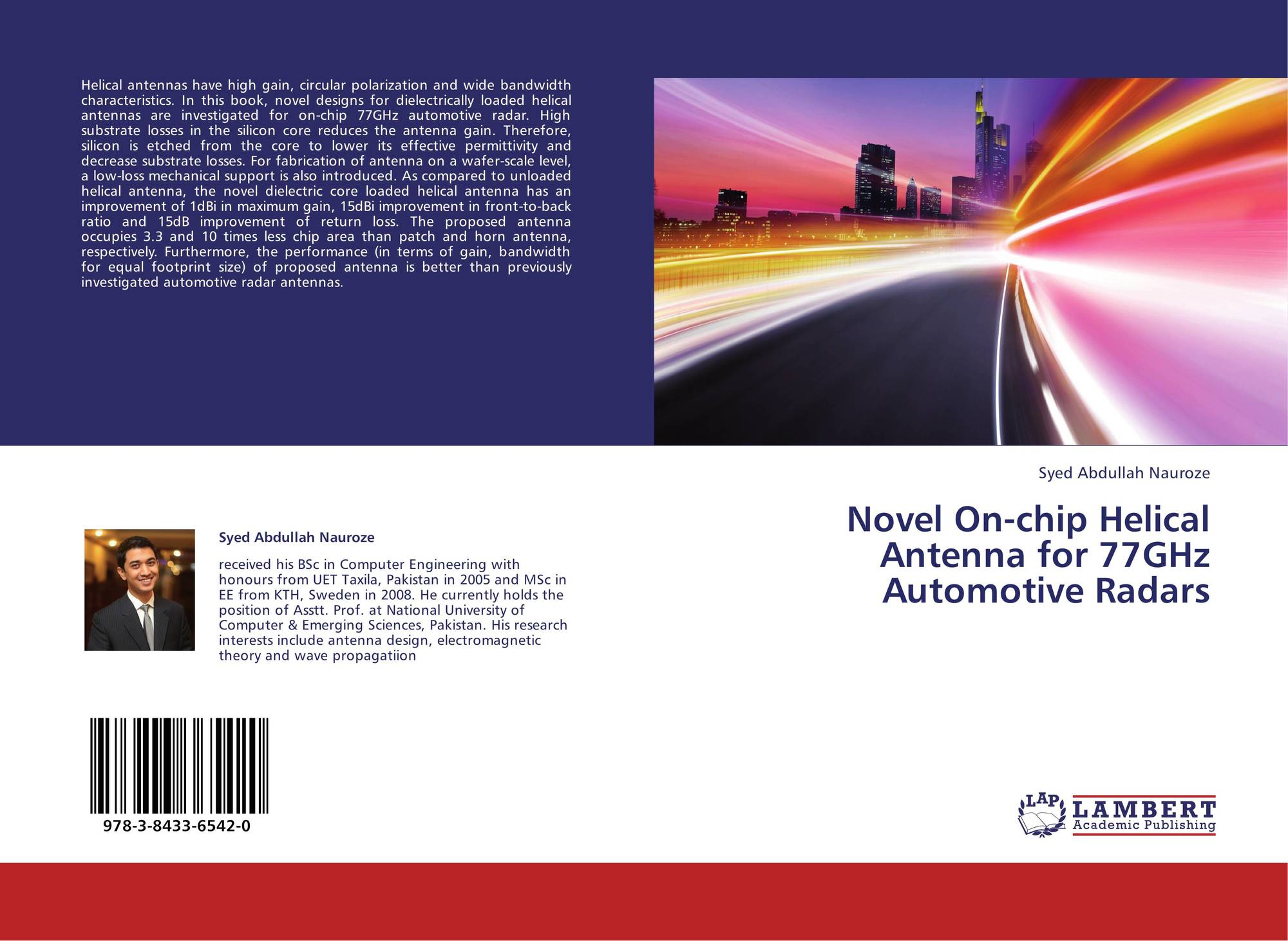 Novel On-chip Helical Antenna for 77GHz Automotive Radars
