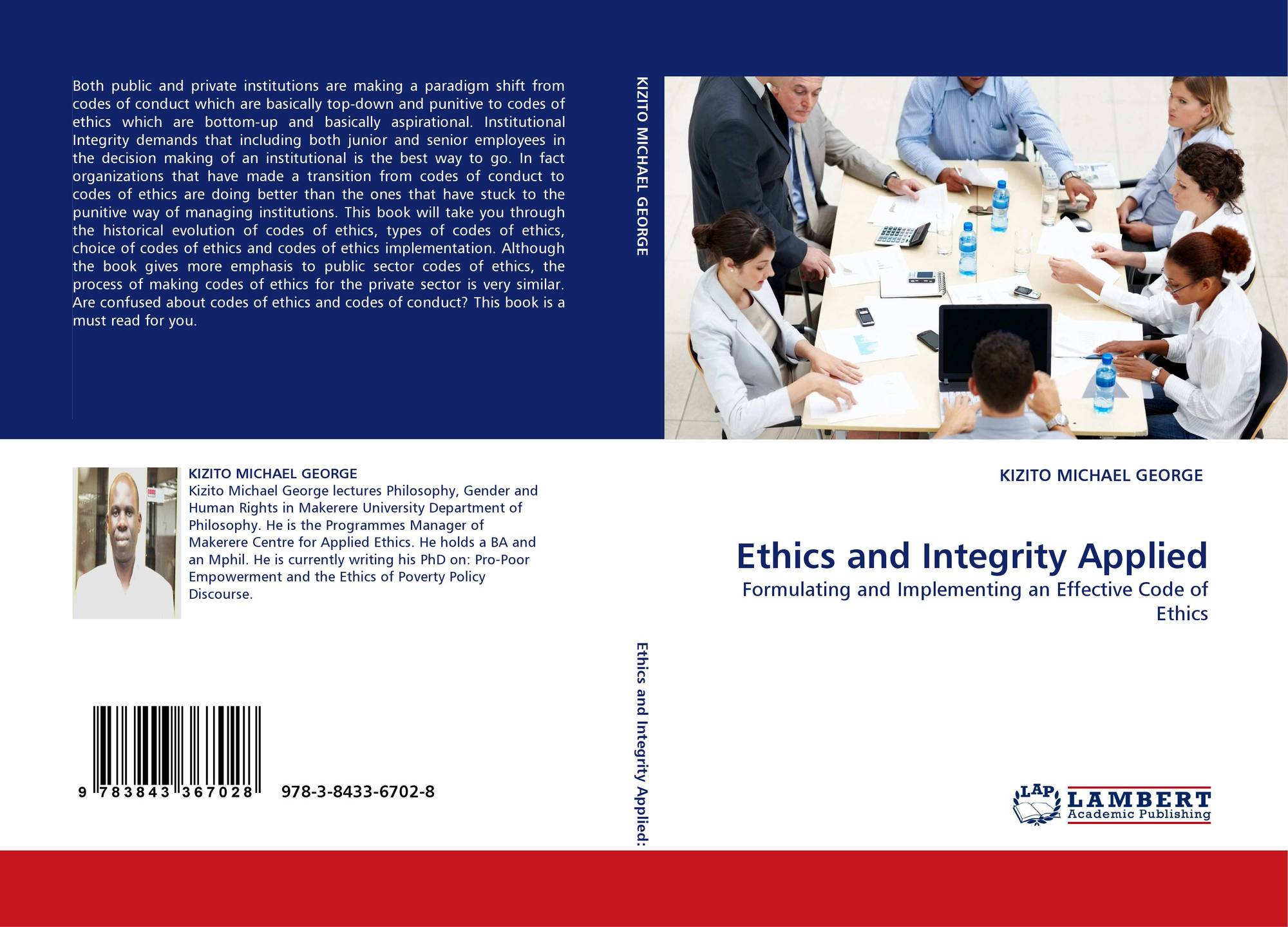academic ethics and integrity in the code of conduct at aiu Research ethics and integrity for academic and professional staff in relation to research data collection the university's code of conduct.