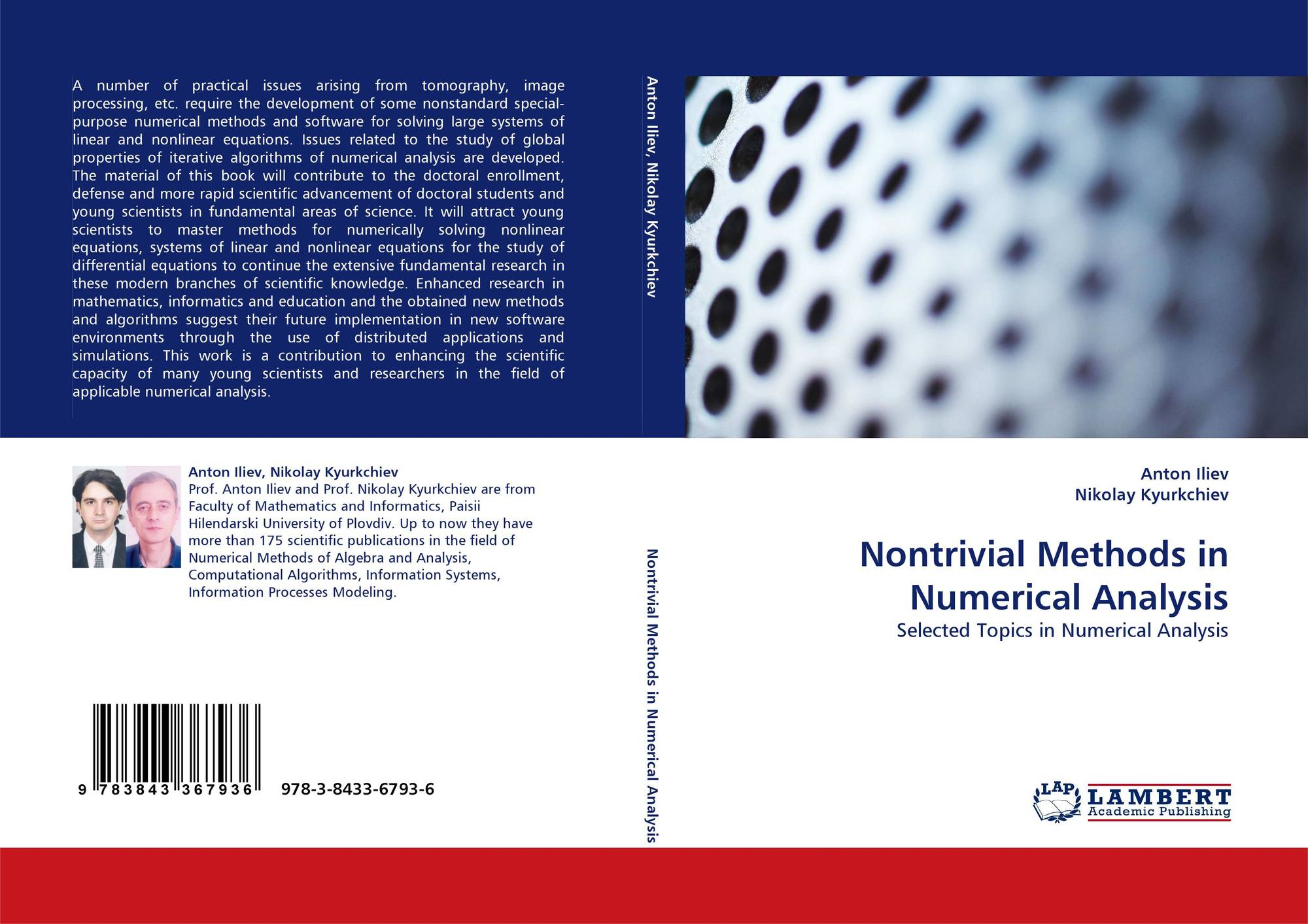 Nontrivial Methods in Numerical Analysis, 978-3-8433-6793-6