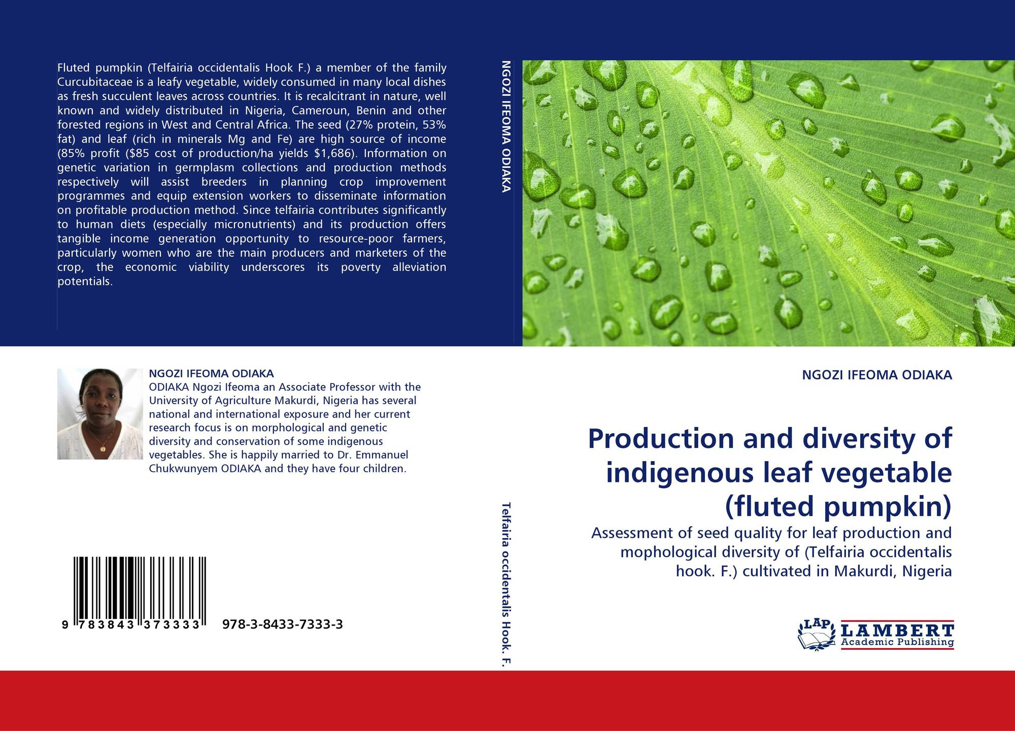 Production And Diversity Of Indigenous Leaf Vegetable