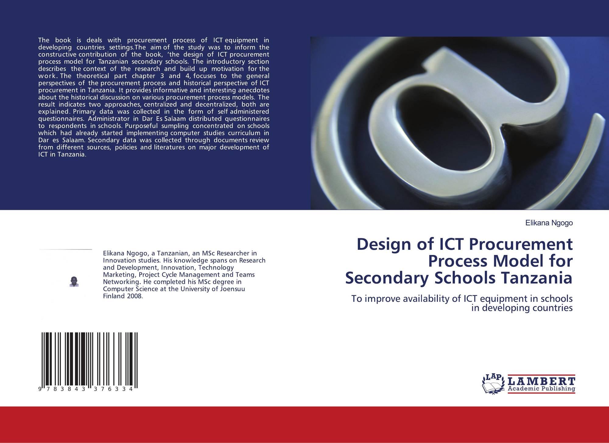 Design of ICT Procurement Process Model for Secondary
