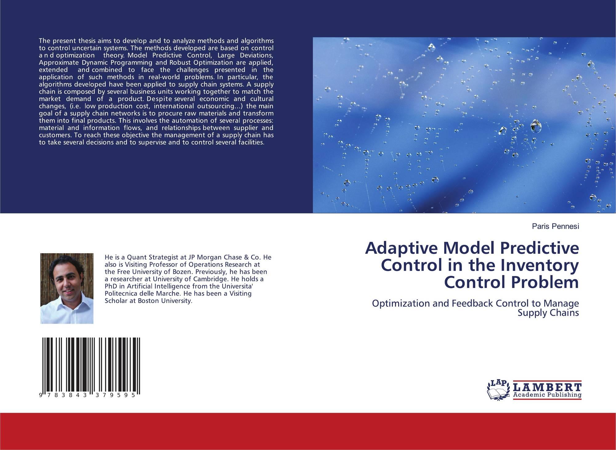 Adaptive Model Predictive Control in the Inventory Control