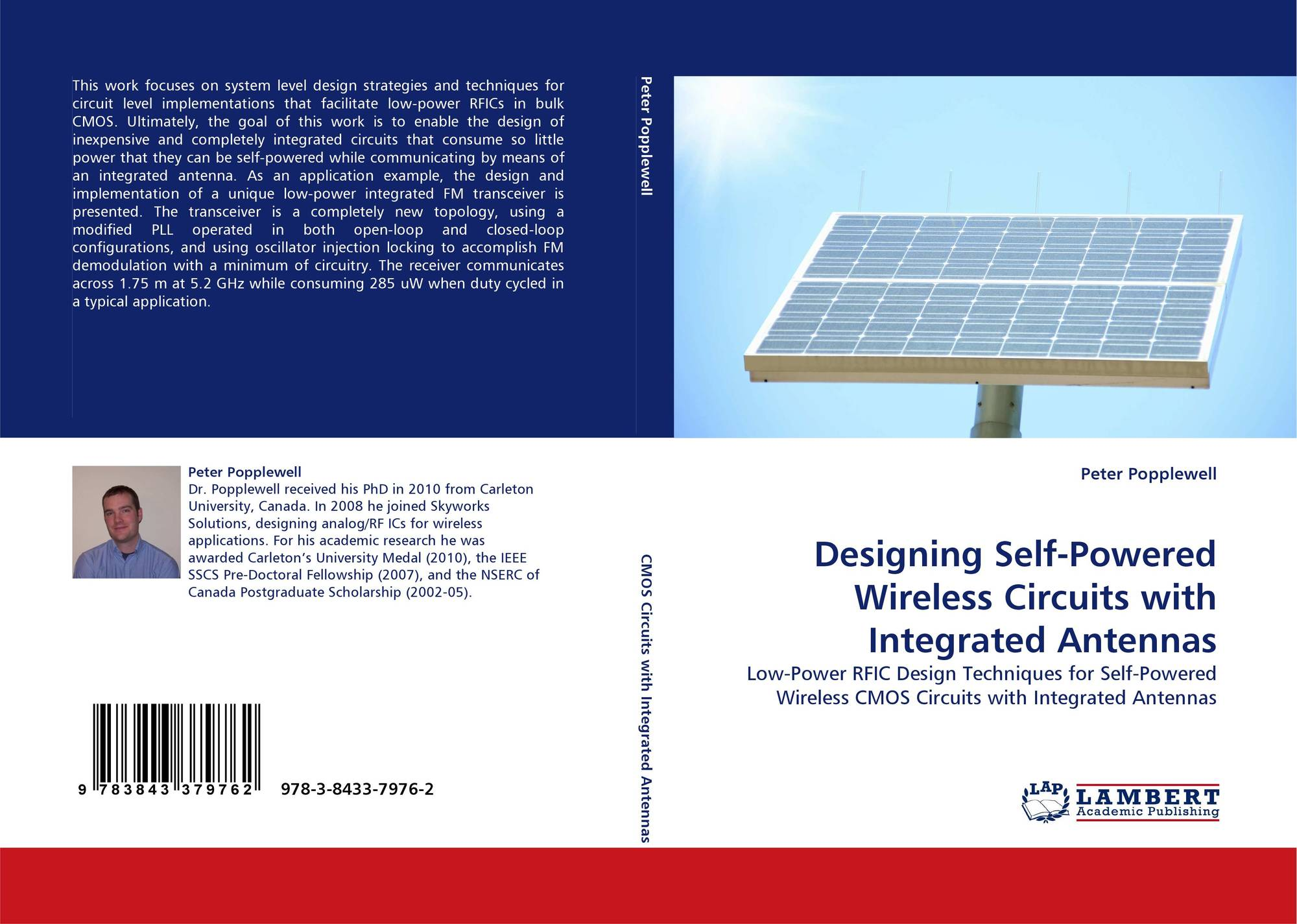 Search Results For Electronic Integrated Circuits Image 3 Picture Of Bookcover Designing Self Powered Wireless With Antennas