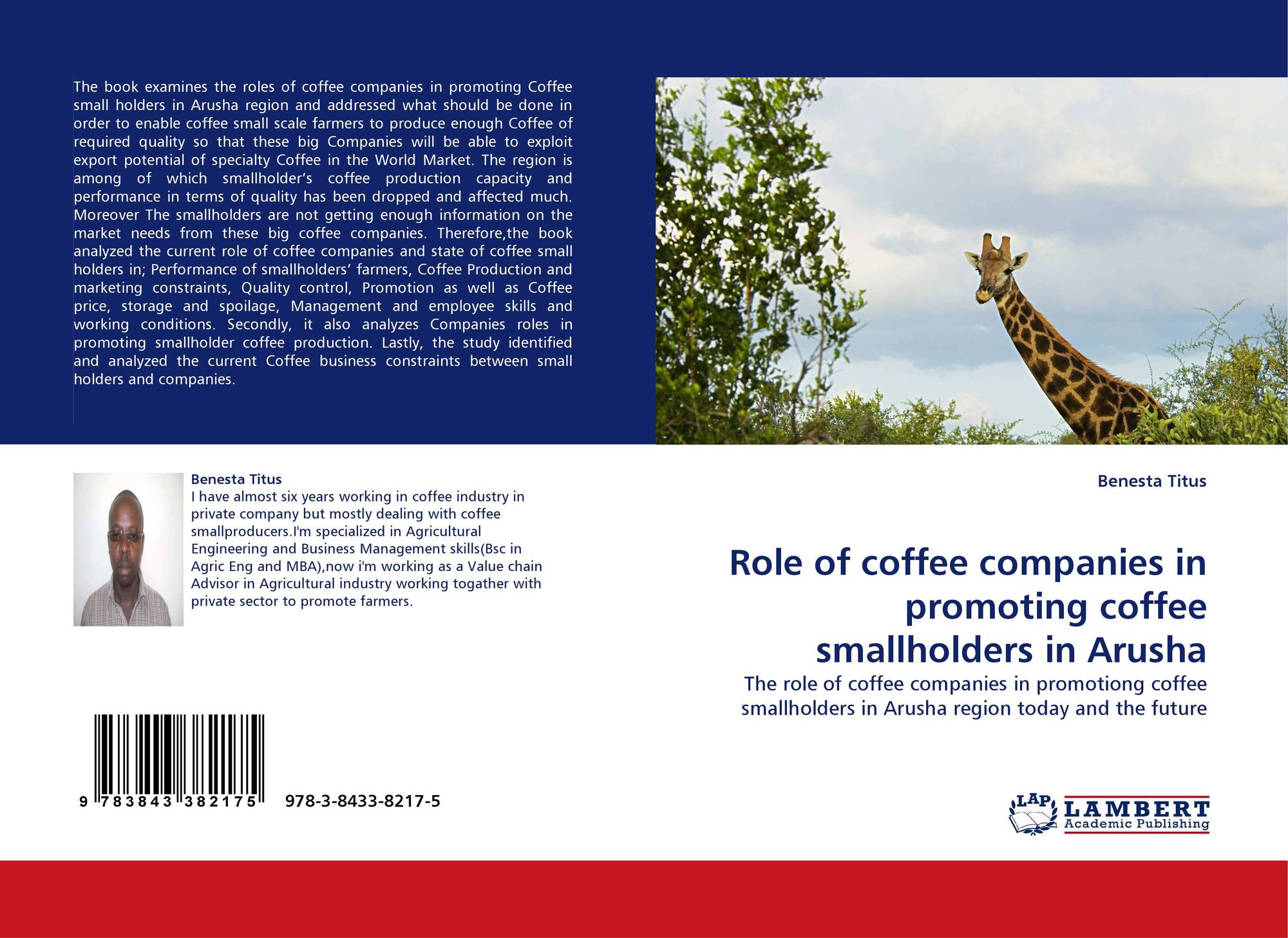 Role of coffee companies in promoting coffee smallholders in