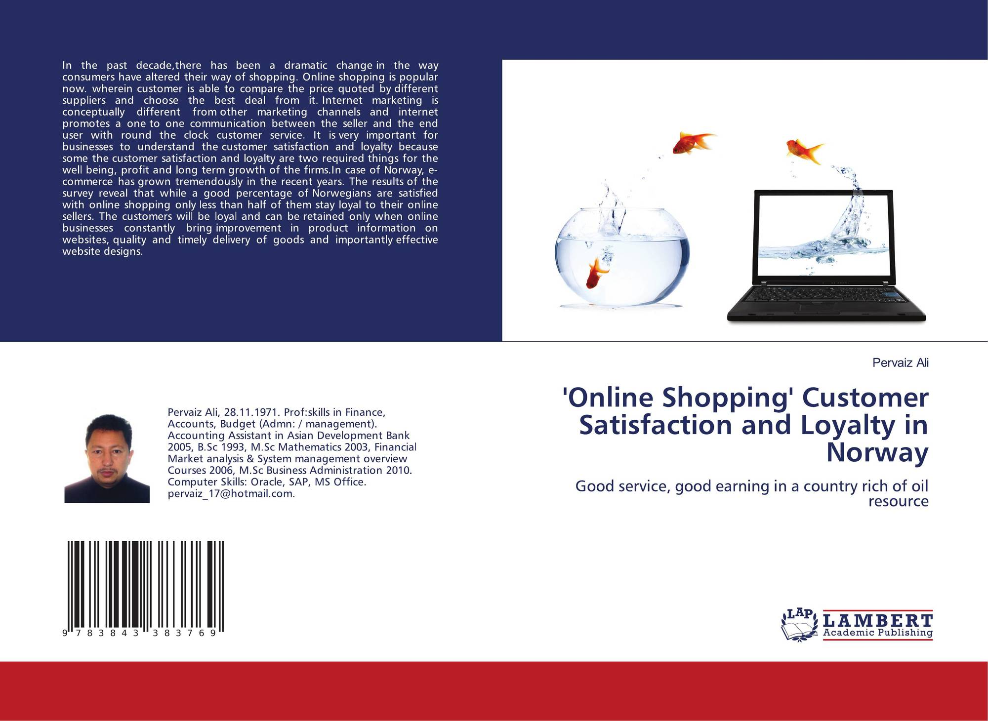 bb12ecfb Online Shopping' Customer Satisfaction and Loyalty in Norway, 978-3 ...