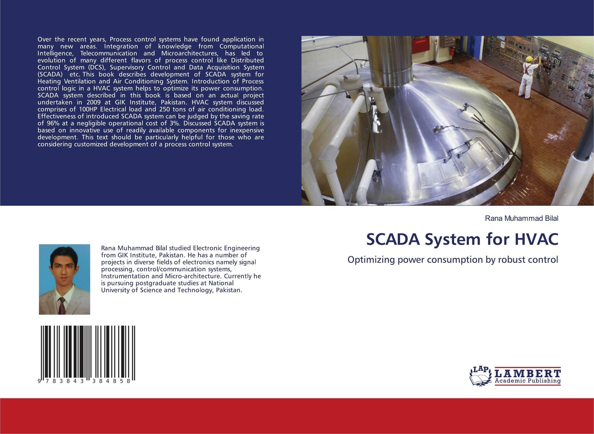 Scada System For Hvac 978 3 8433 8485 8 3843384851 9783843384858 Power Draw
