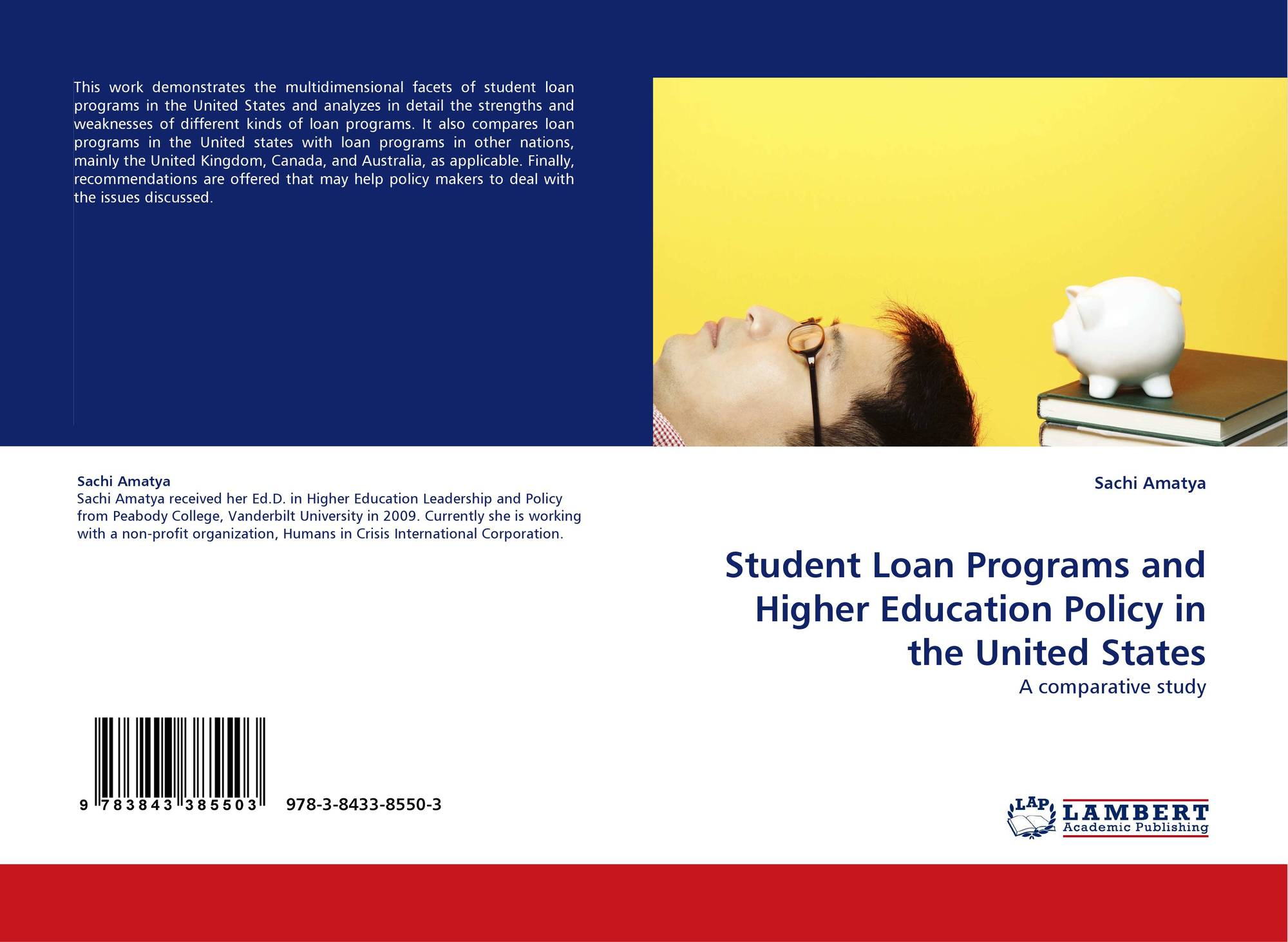 omparison of study loans that being