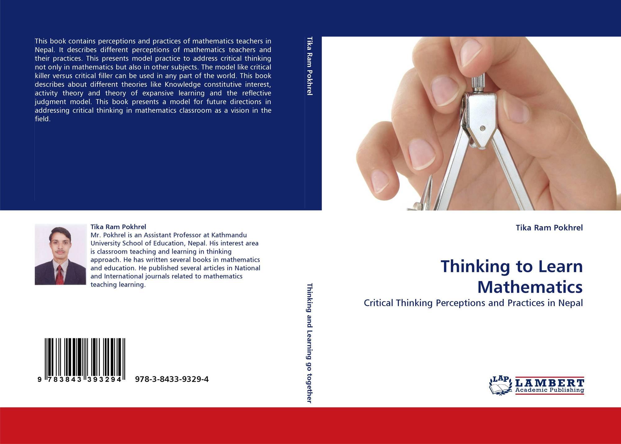 Thinking to Learn Mathematics, 978-3-8433-9329-4, 384339329X