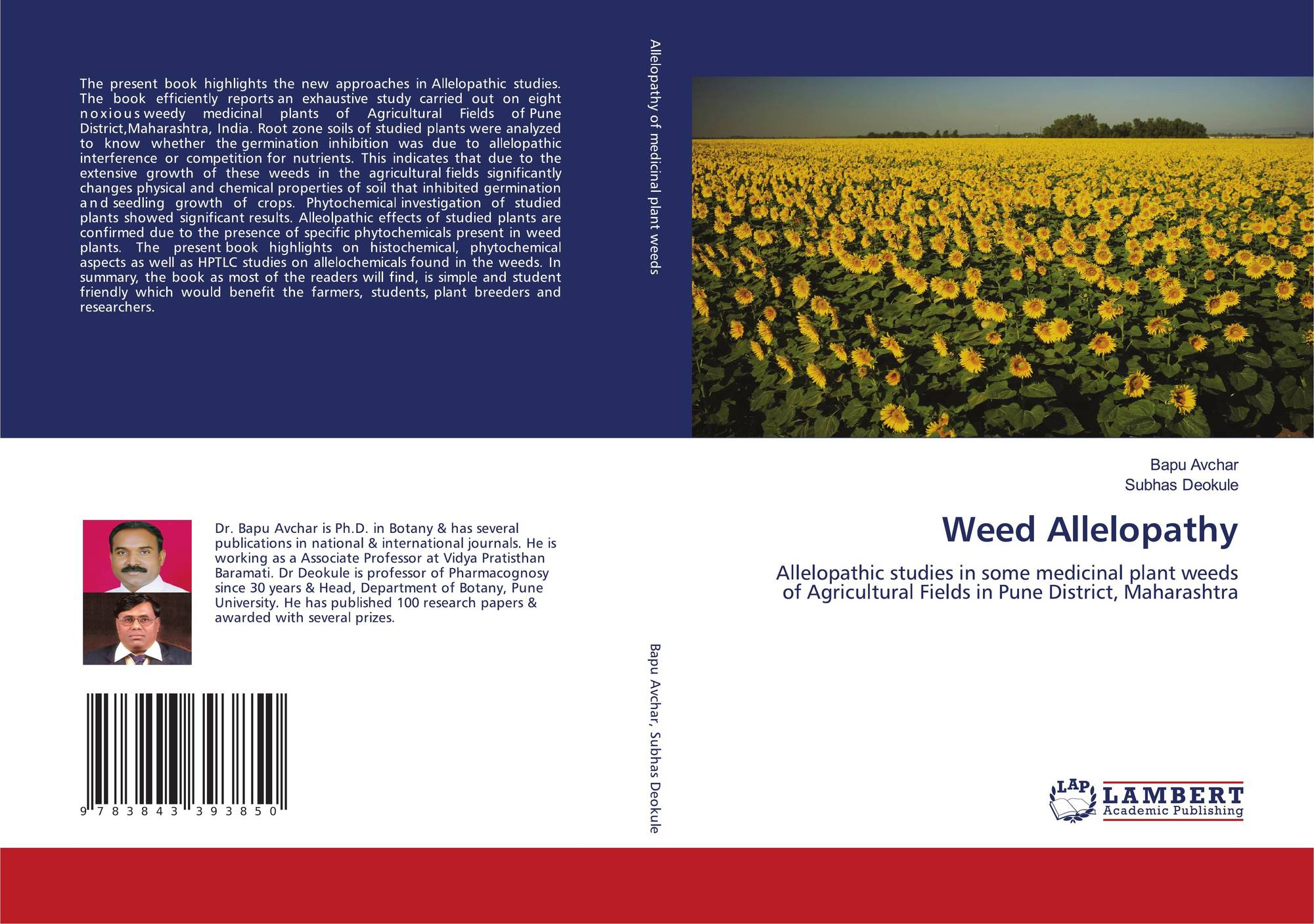 agriculture the alleopathic effect of weeds on