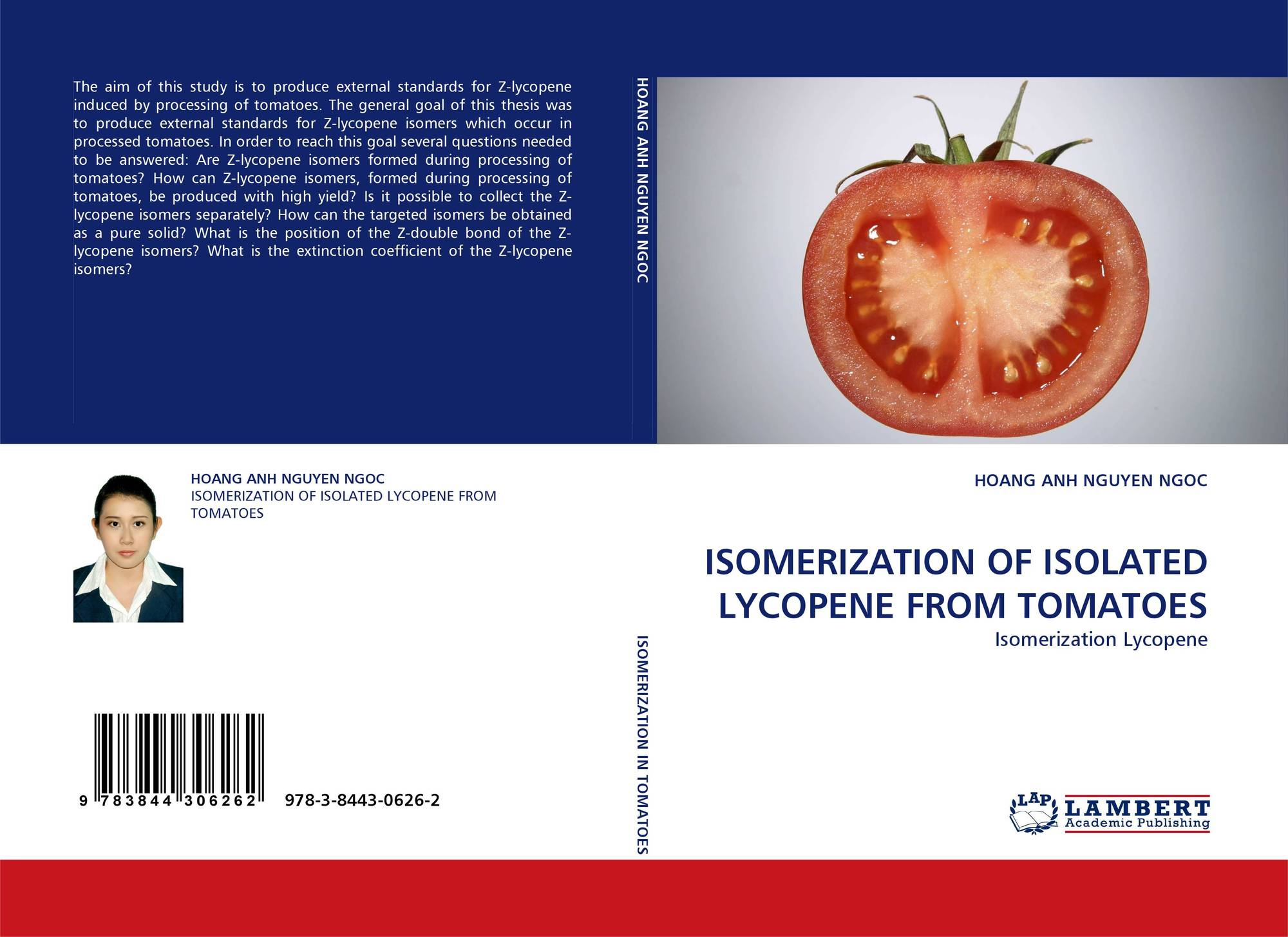 isolation and isomerization of lycopene from Lycopene undergo degradation via isomerization and oxidation under different heating exposures but at the same time, heating can enhance the extractability of lycopene from the tomato matrix light as discussed previously heat and light are the two major factors which highly affect the food quality in processing and material handling procedure.