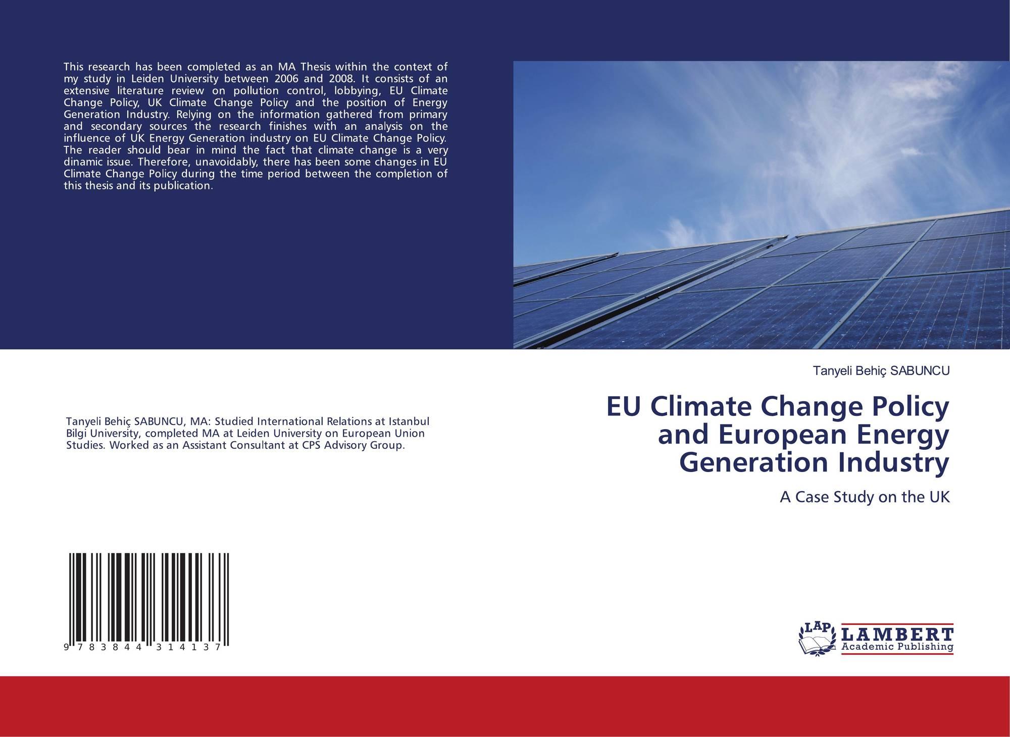 thesis european studies