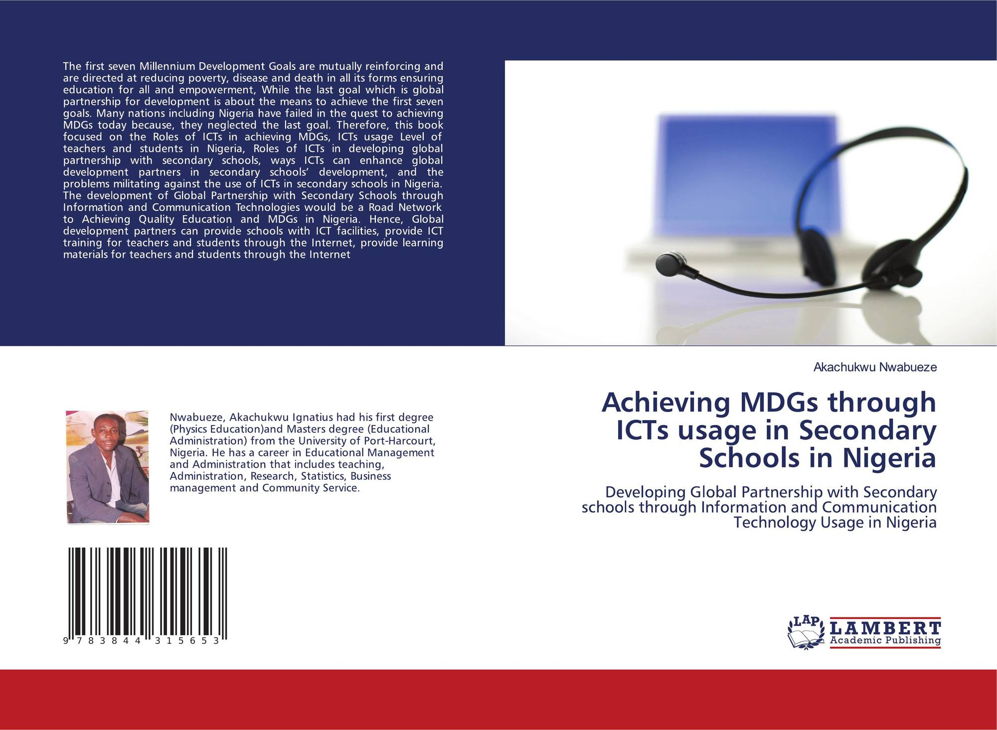 governance with ict towards mdg a This paper explores how recent revolutionary changes in information and communication technologies (ict) affect environmental sustainability, with an eye to the millennium development goal (mdg) set up to ensure environmental sustainability in this century the paper is part of a series of 7.
