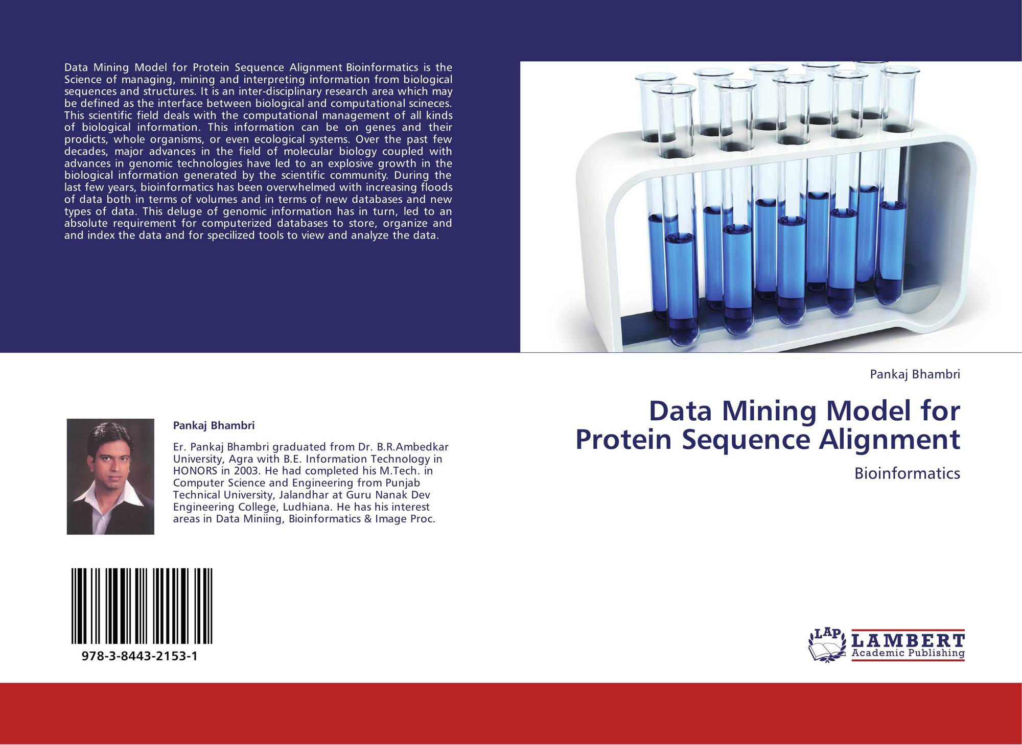 major research areas of bioinformatics