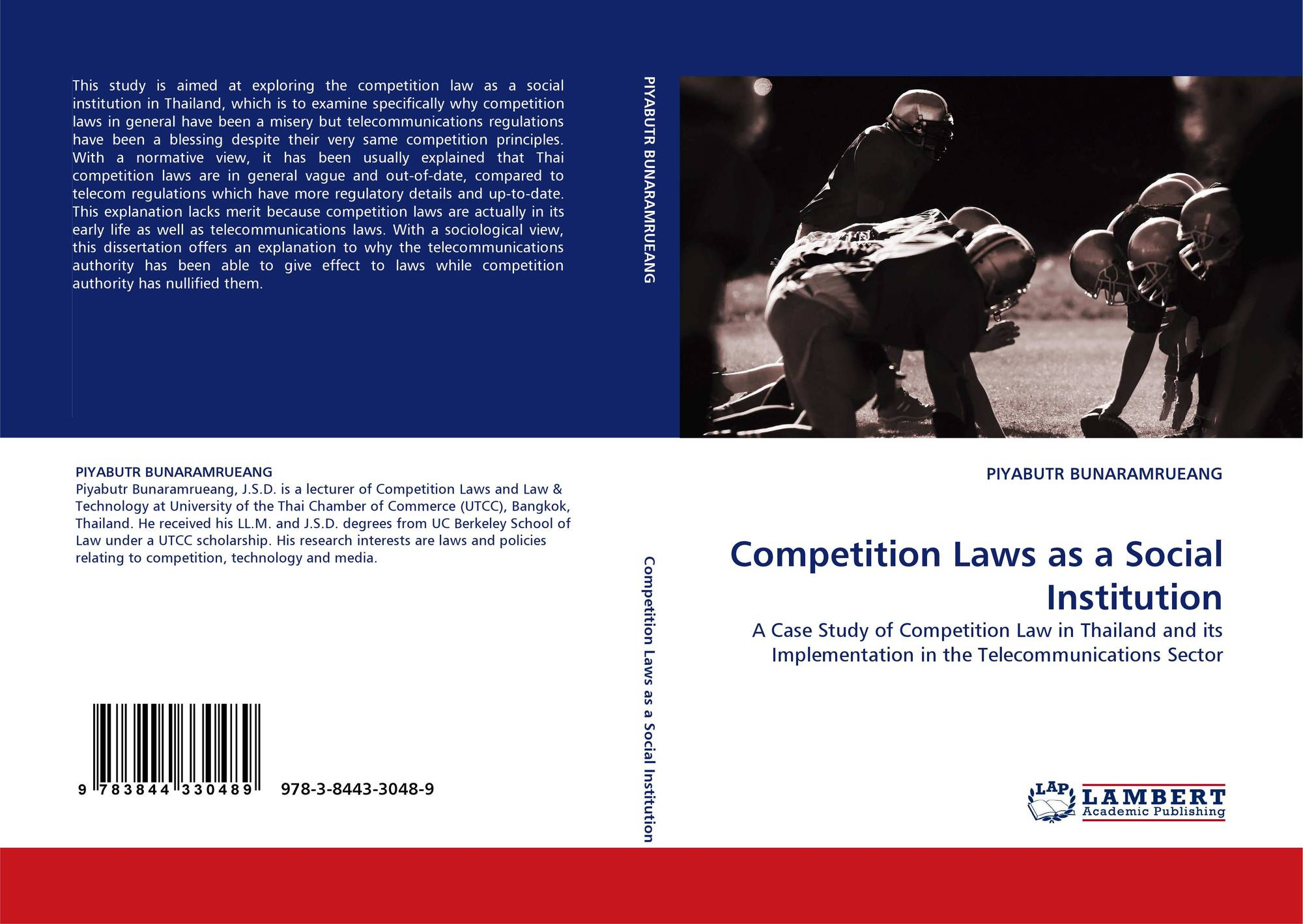Competition Laws as a Social Institution, 978-3-8443-3048-9