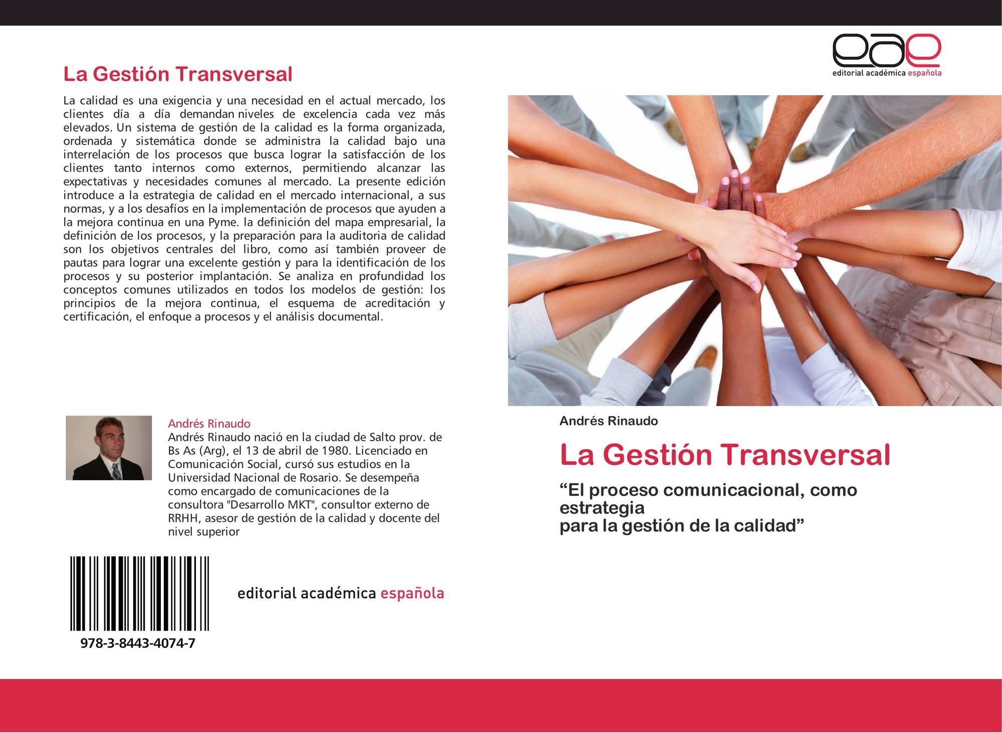 La Gestión Transversal, 978-3-8443-4074-7, 3844340742 ,9783844340747 ...
