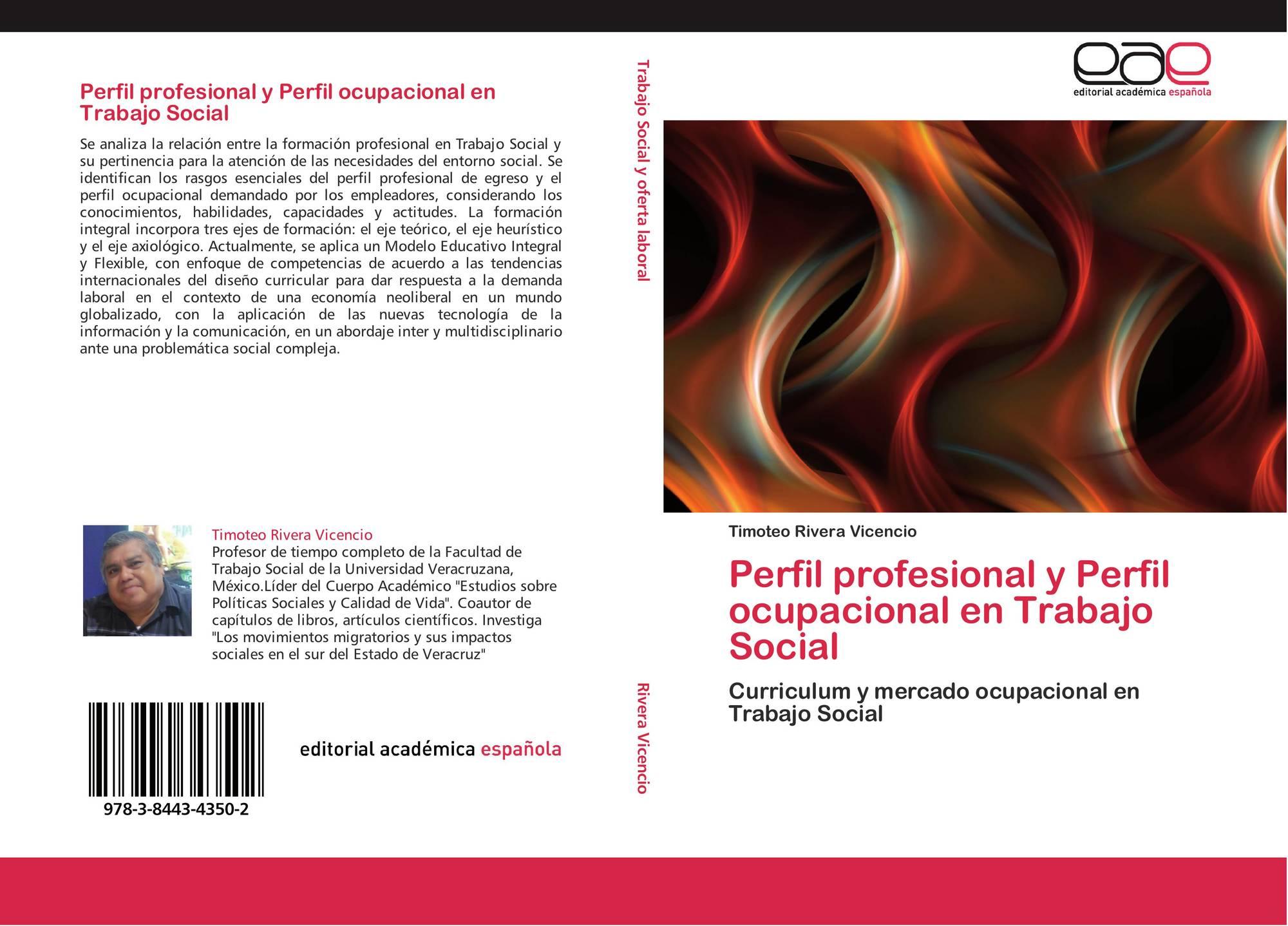 Perfil profesional y Perfil ocupacional en Trabajo Social, 978-3 ...