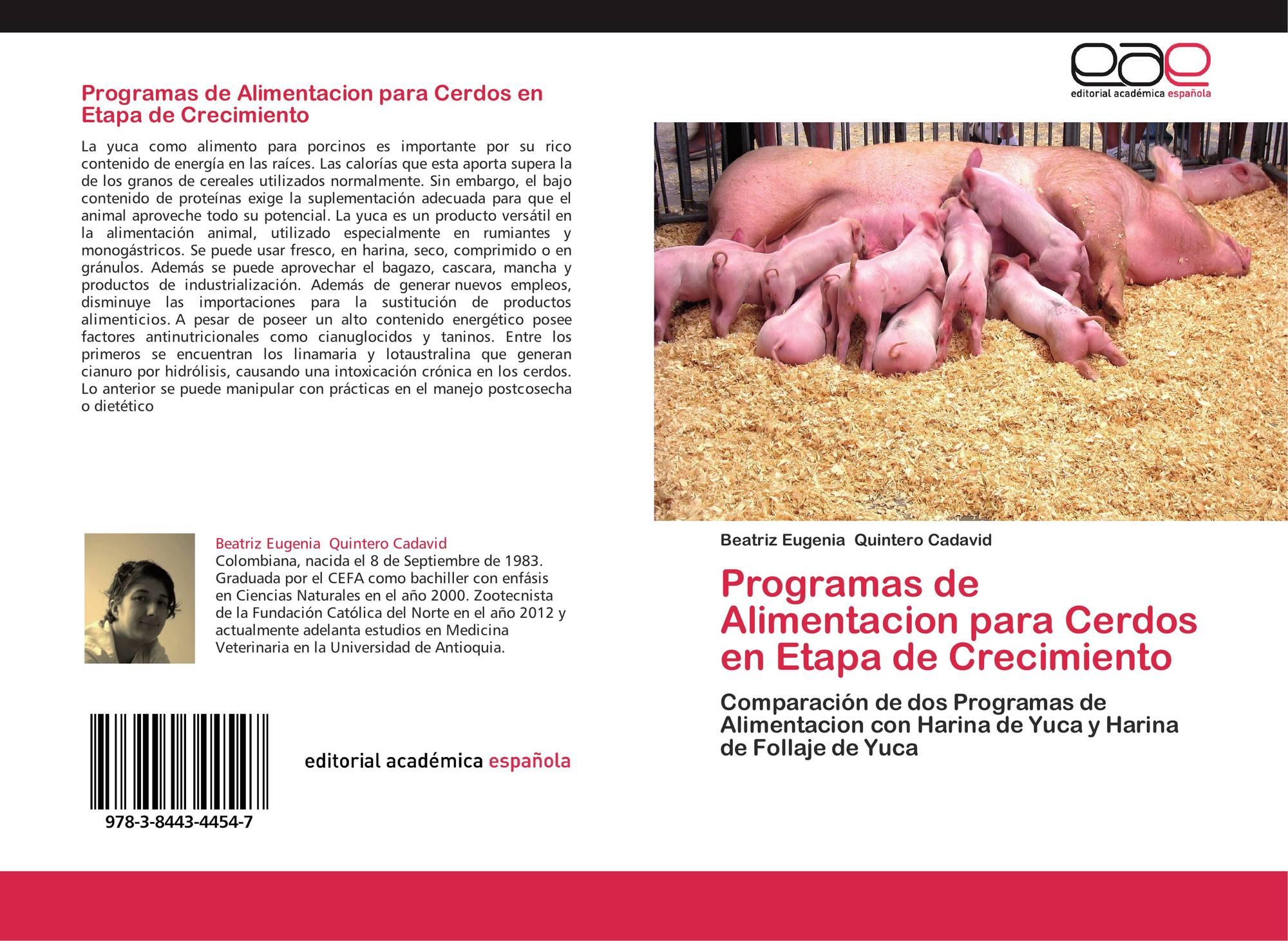 Programas de alimentacion para cerdos en etapa de - Alimentos para el crecimiento ...