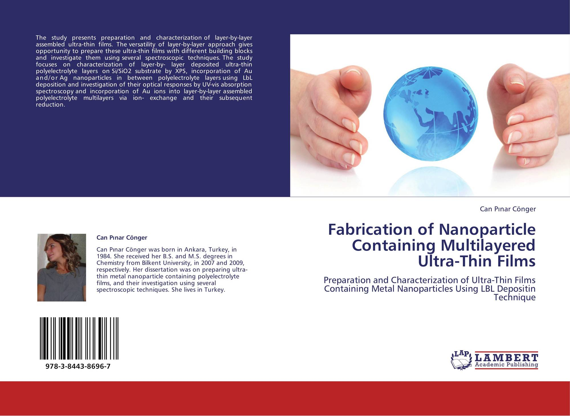 Bookcover of FABRICATION OF NANOPARTICLE CONTAINING MULTILAYERED ULTRA-THIN  FILMS. 9783844386967