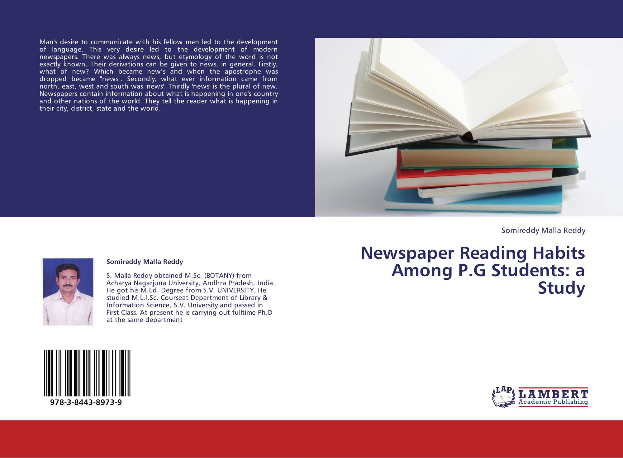 essays on a study of reading habits Free term papers & essays - explication of a study of reading habits, s.