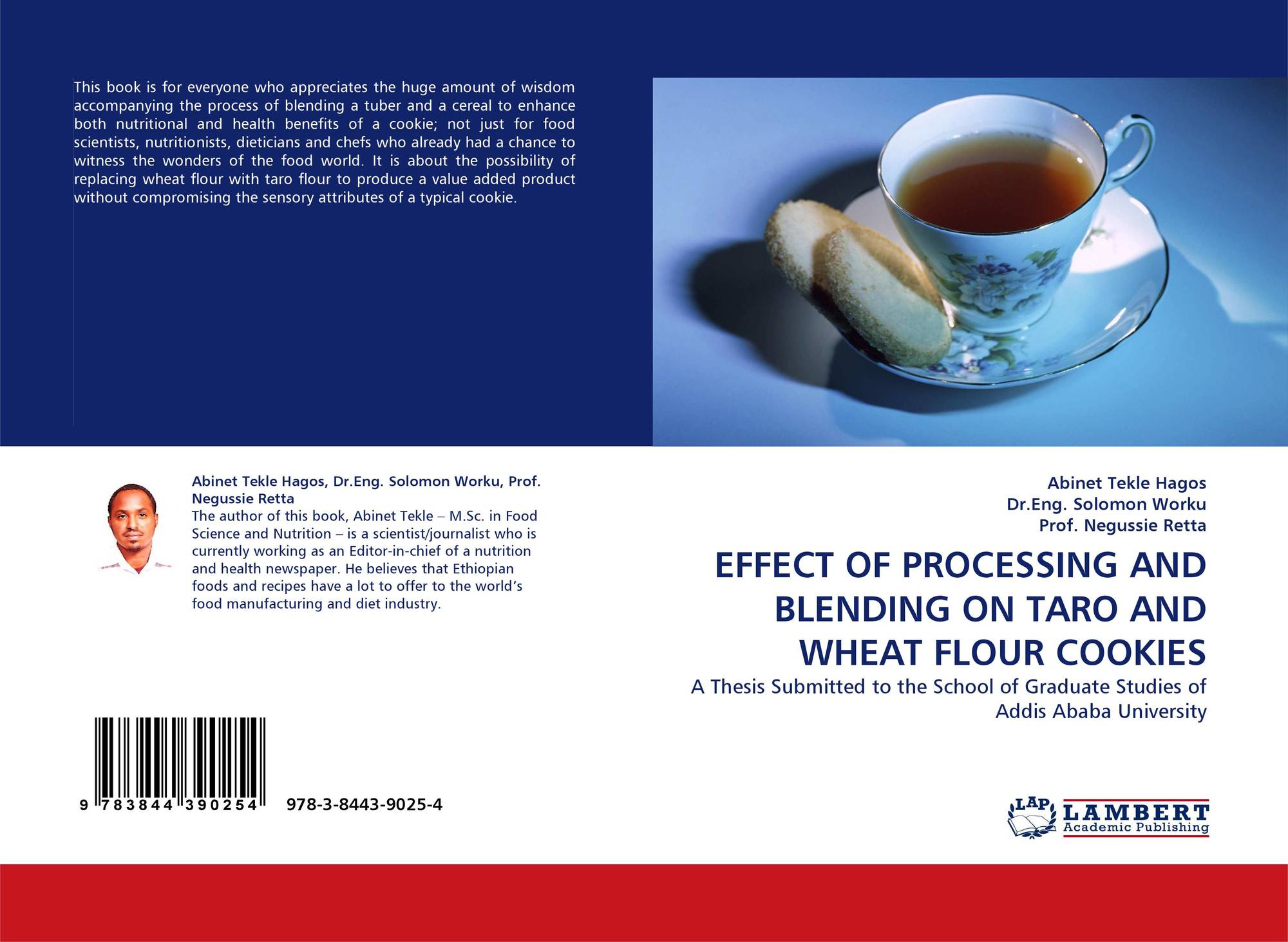 EFFECT OF PROCESSING AND BLENDING ON TARO AND WHEAT FLOUR
