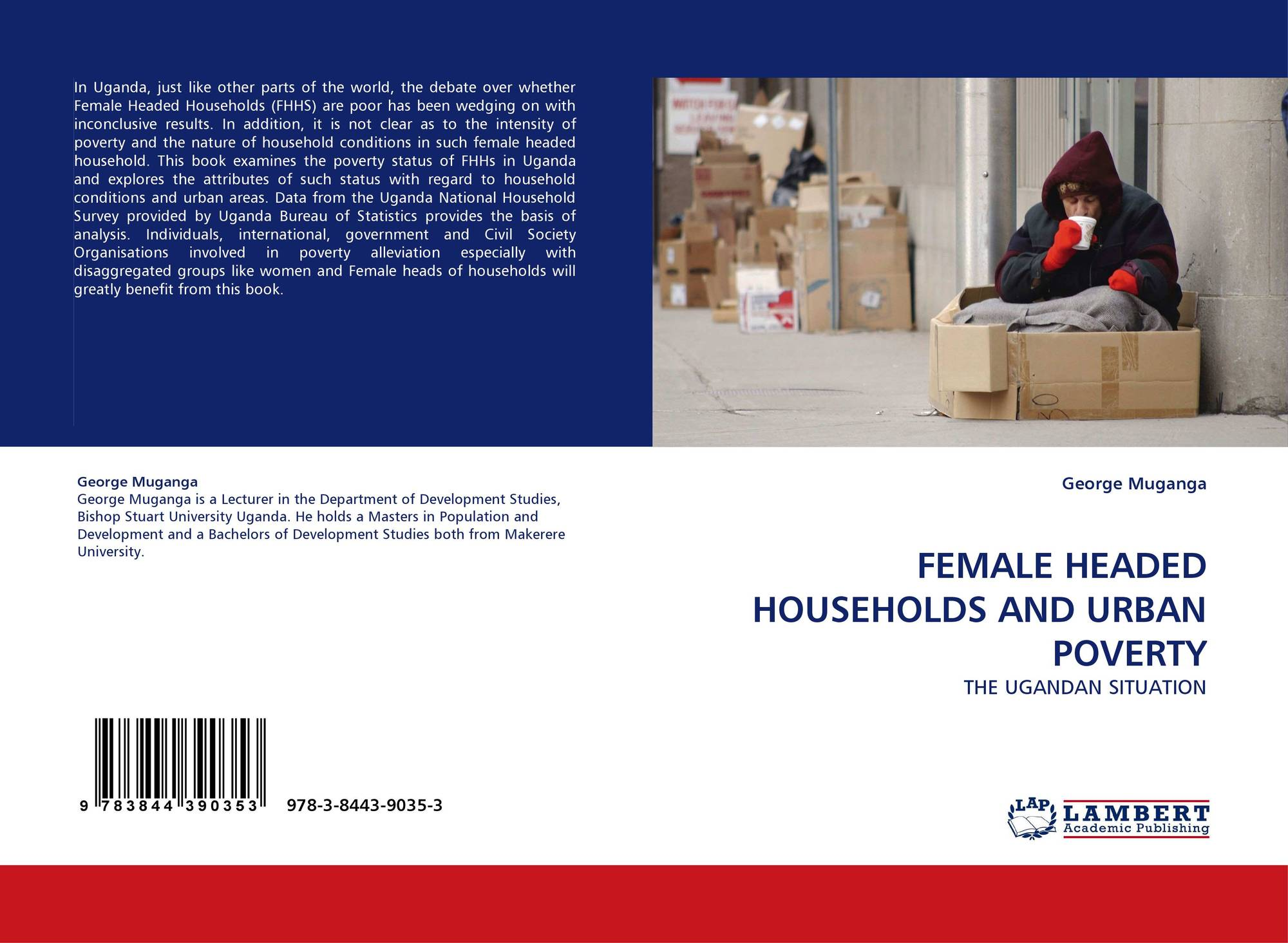 FEMALE HEADED HOUSEHOLDS AND URBAN POVERTY, 978-3-8443-9035