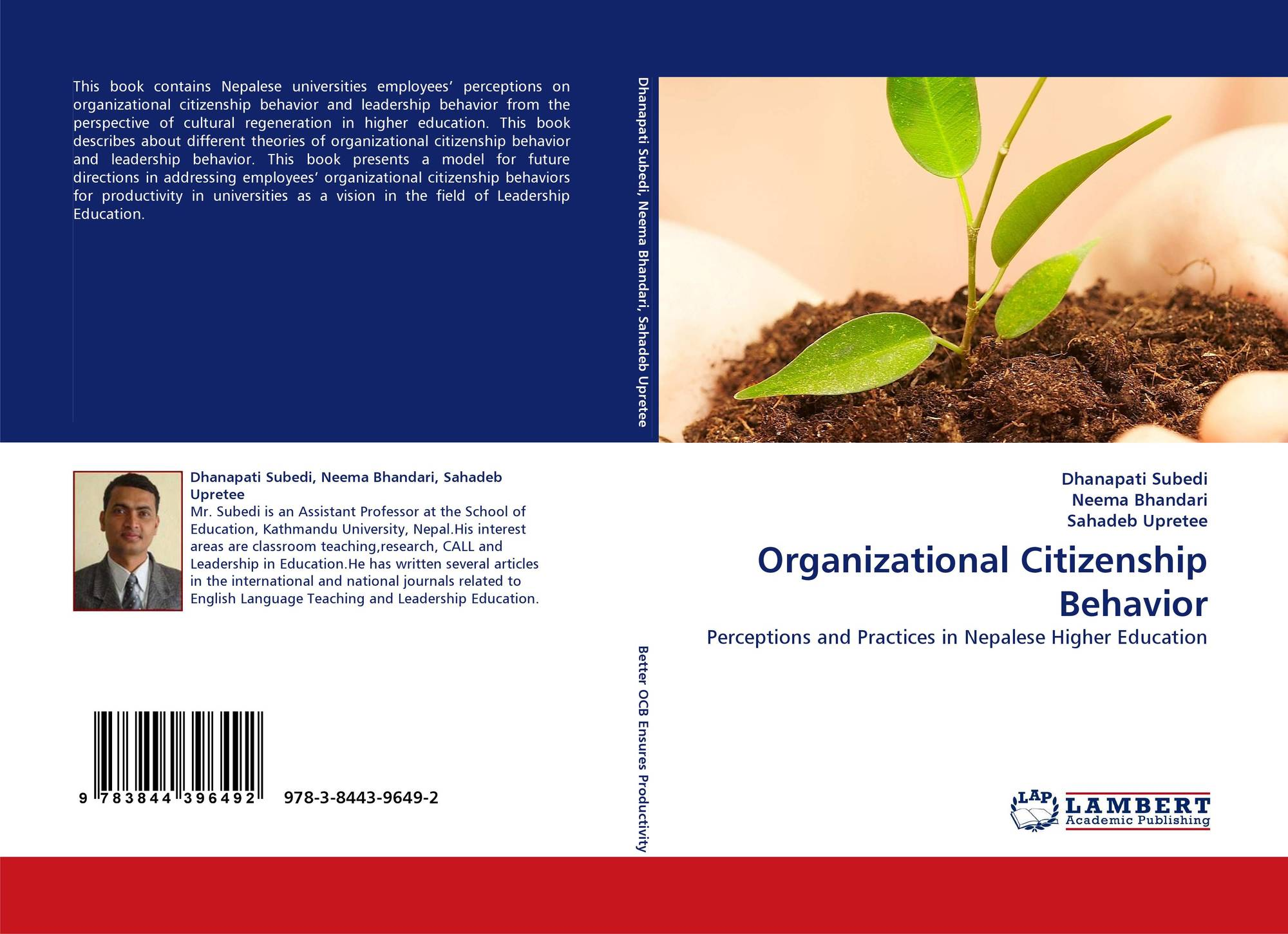 search results for organizational citizenship behavior bookcover of organizational citizenship behavior