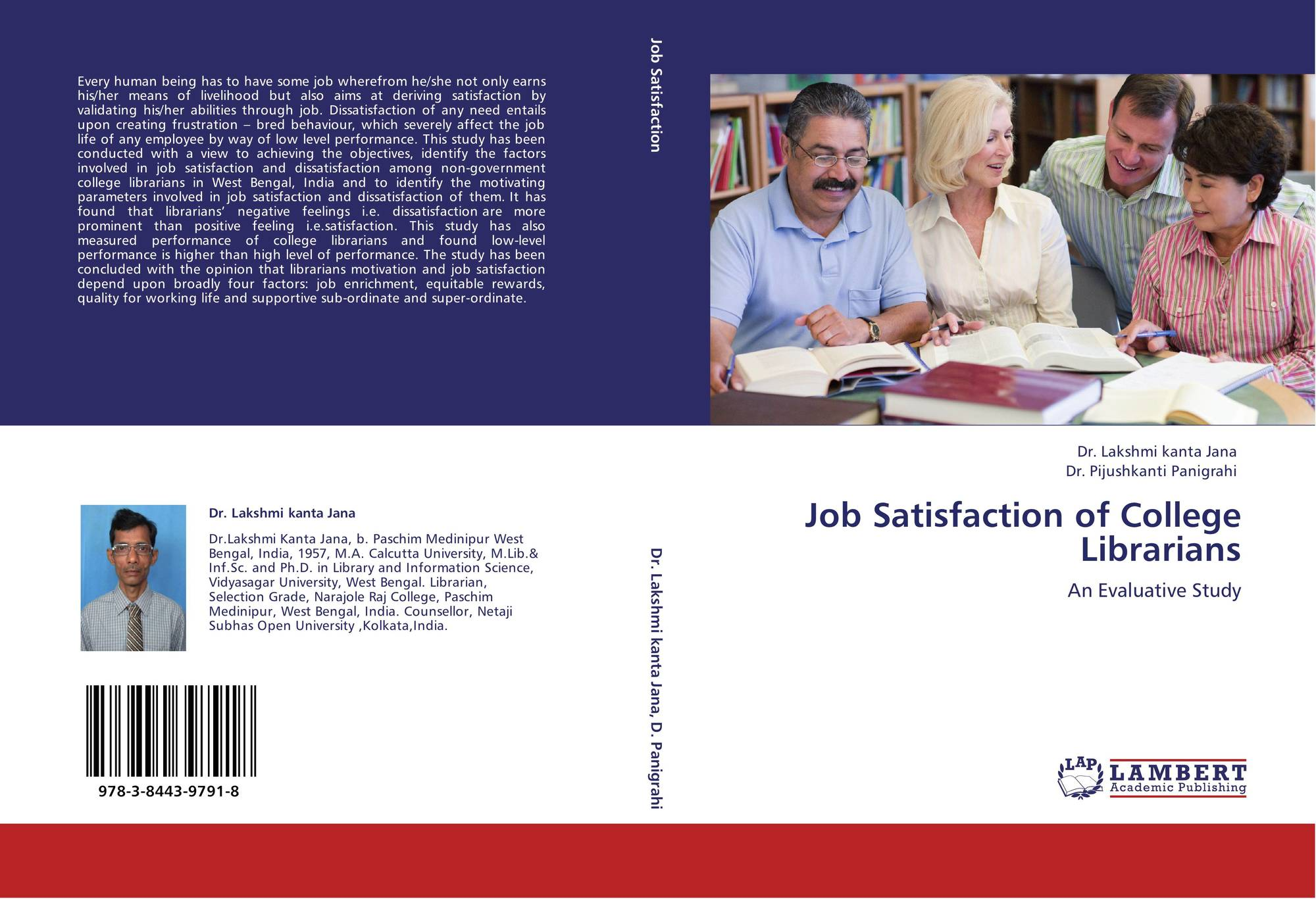 job satisfaction amoung academic This study examines the relationships between pay, promotion, fringe benefits, working condition, support of research, support of teaching, gender and job.