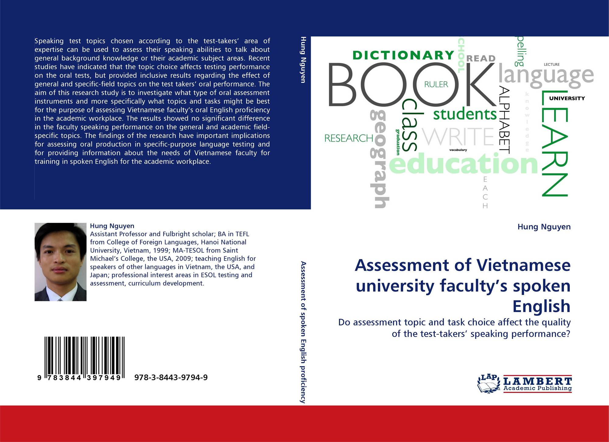 Assessment of Vietnamese university faculty's spoken English