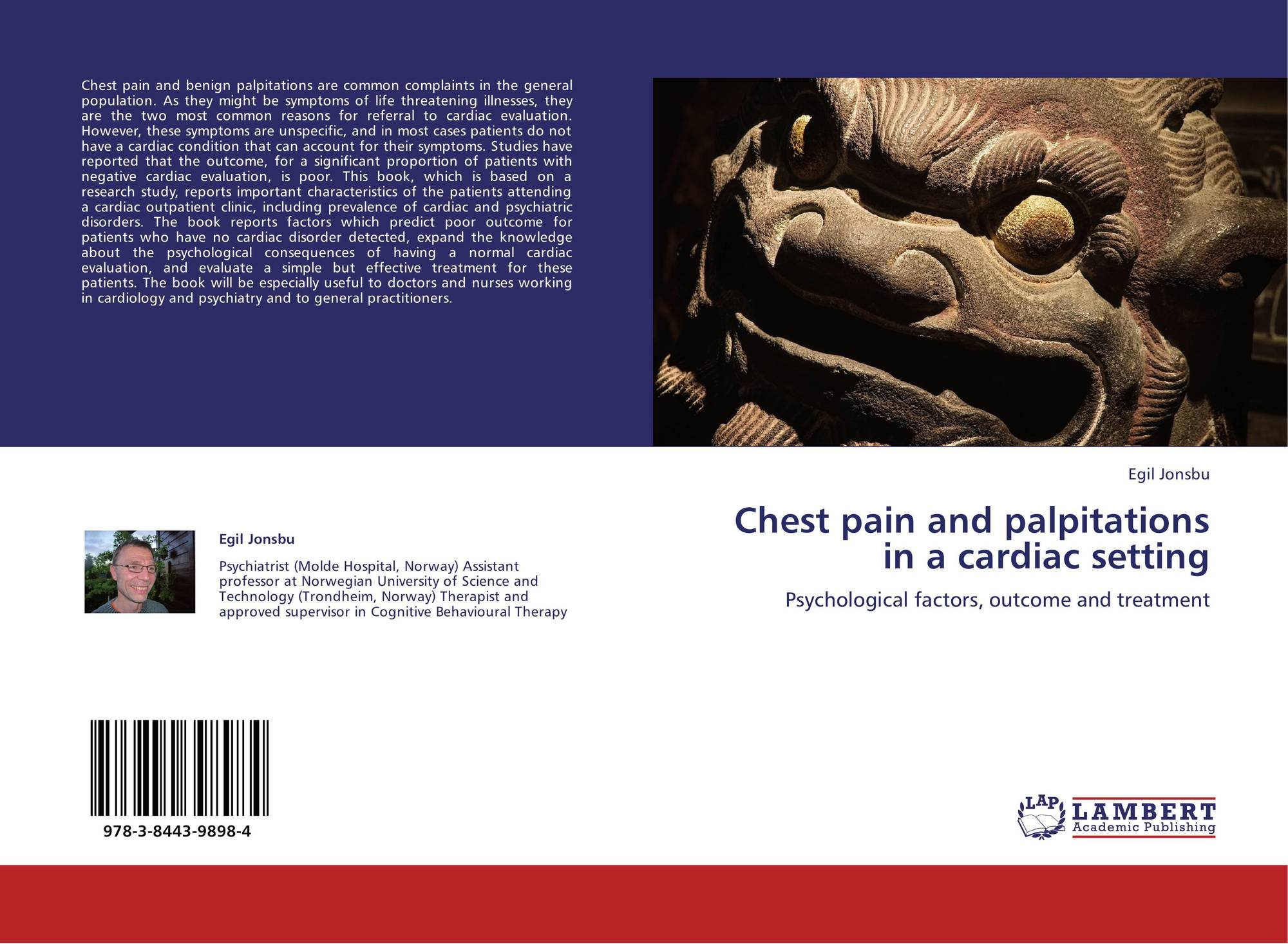 Chest pain and palpitations in a cardiac setting, 978-3-8443