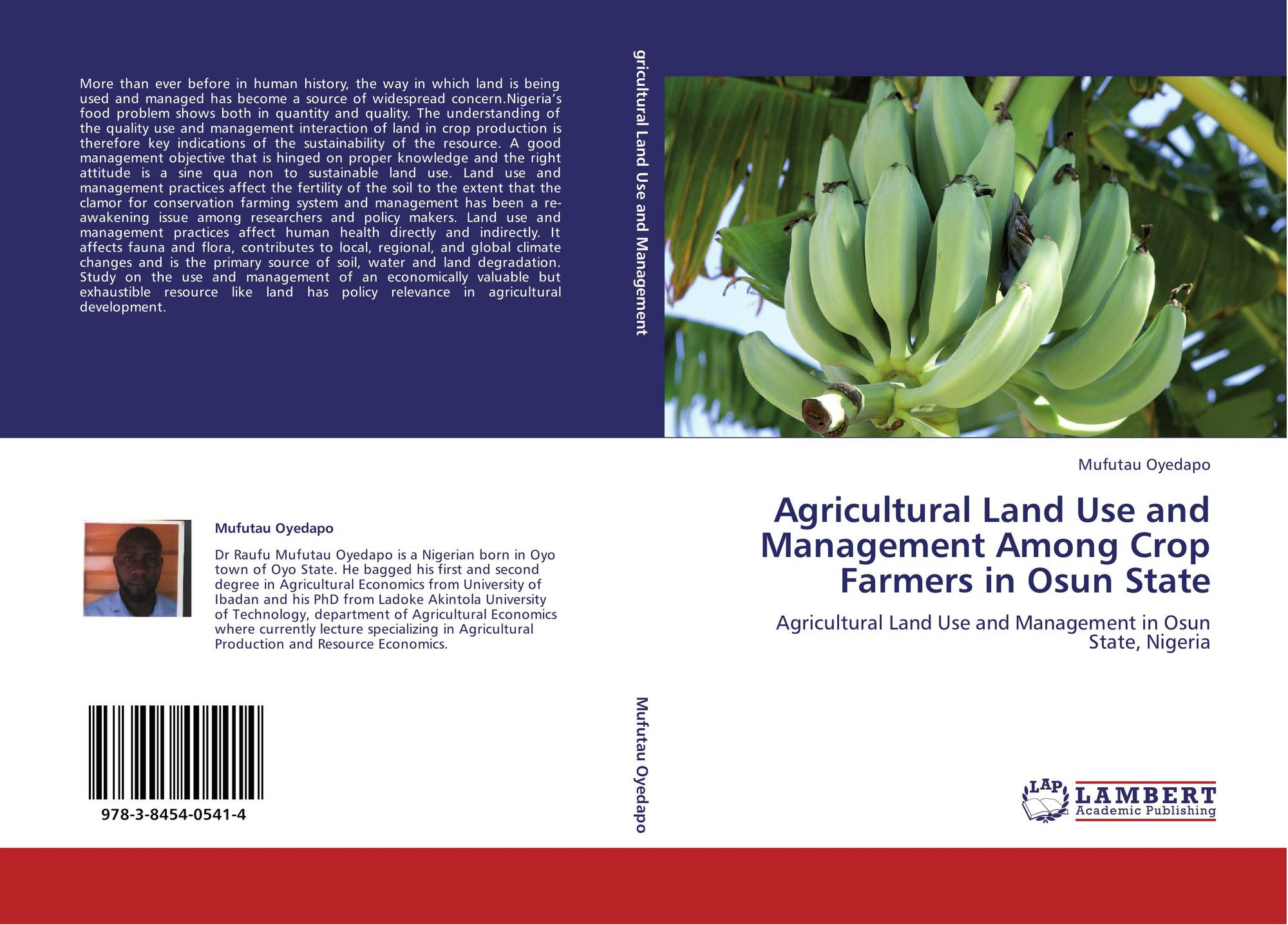 land use and management essay
