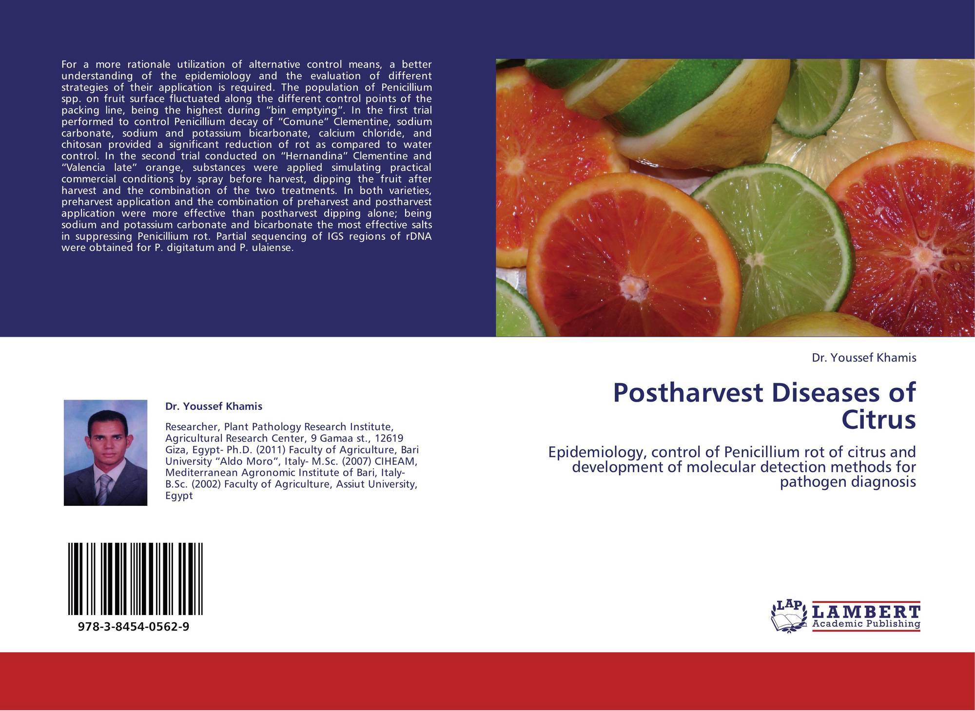methods to control postharvest decay and Proc fla state hort soc 105:131-134 1992 evaluation of iprodione and fosetyl-al and other fungicides for postharvest citrus decay control.
