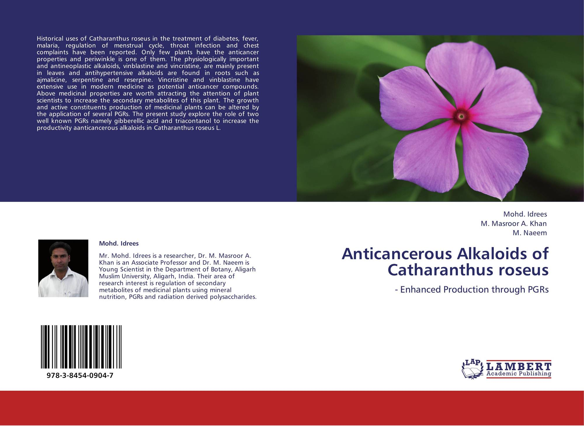 thesis on catharanthus roseus Catharanthus roseus, commonly known as the madagascar periwinkle, rose periwinkle, or rosy periwinkle, is a species of flowering plant in the dogbane family apocynaceae.