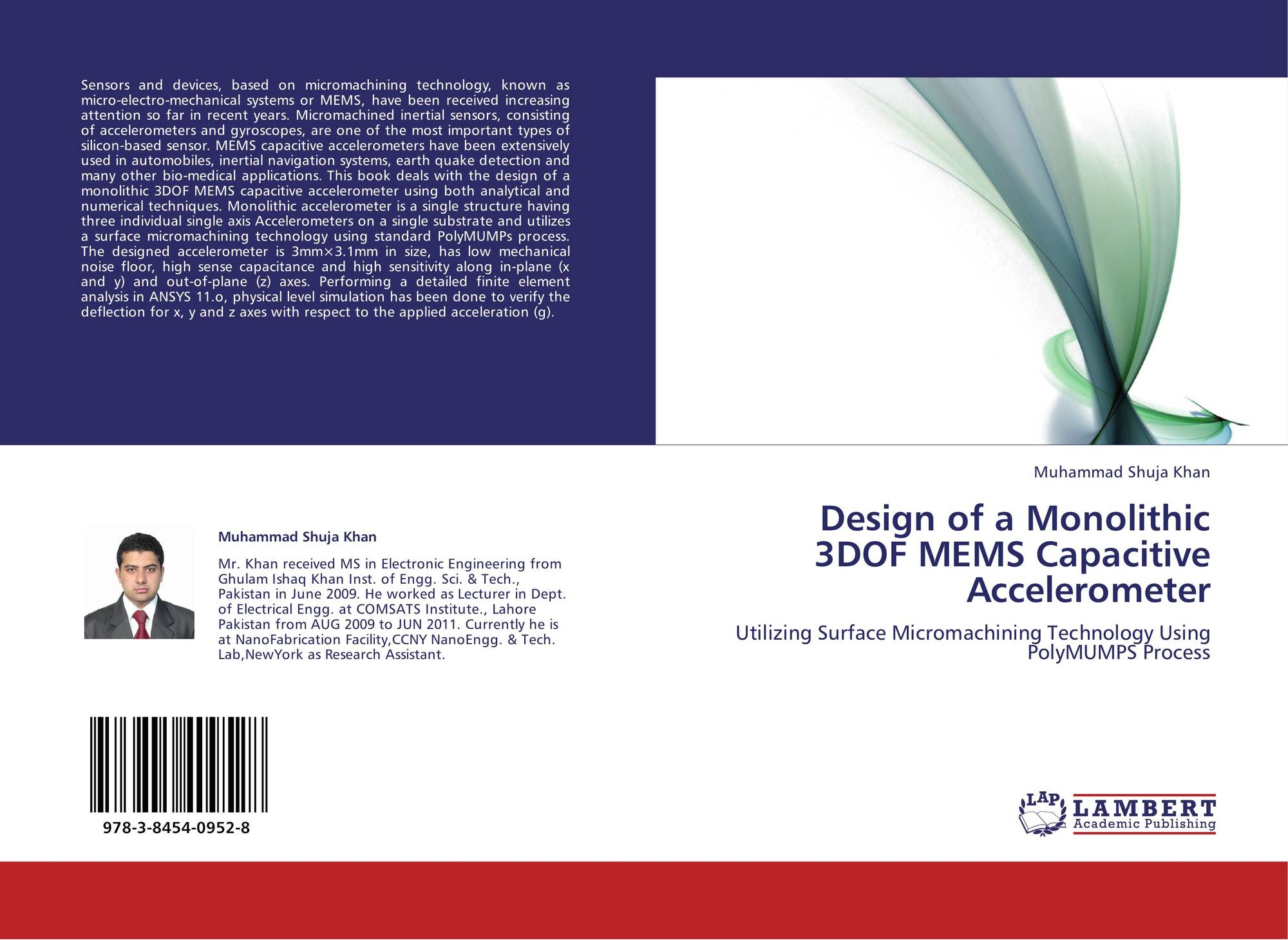 prediction of cross axis sensitivity of inertial micro sensor