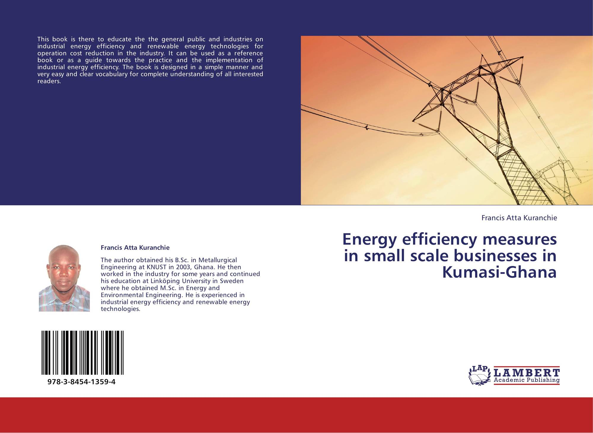Energy efficiency measures in small scale businesses in Kumasi-Ghana