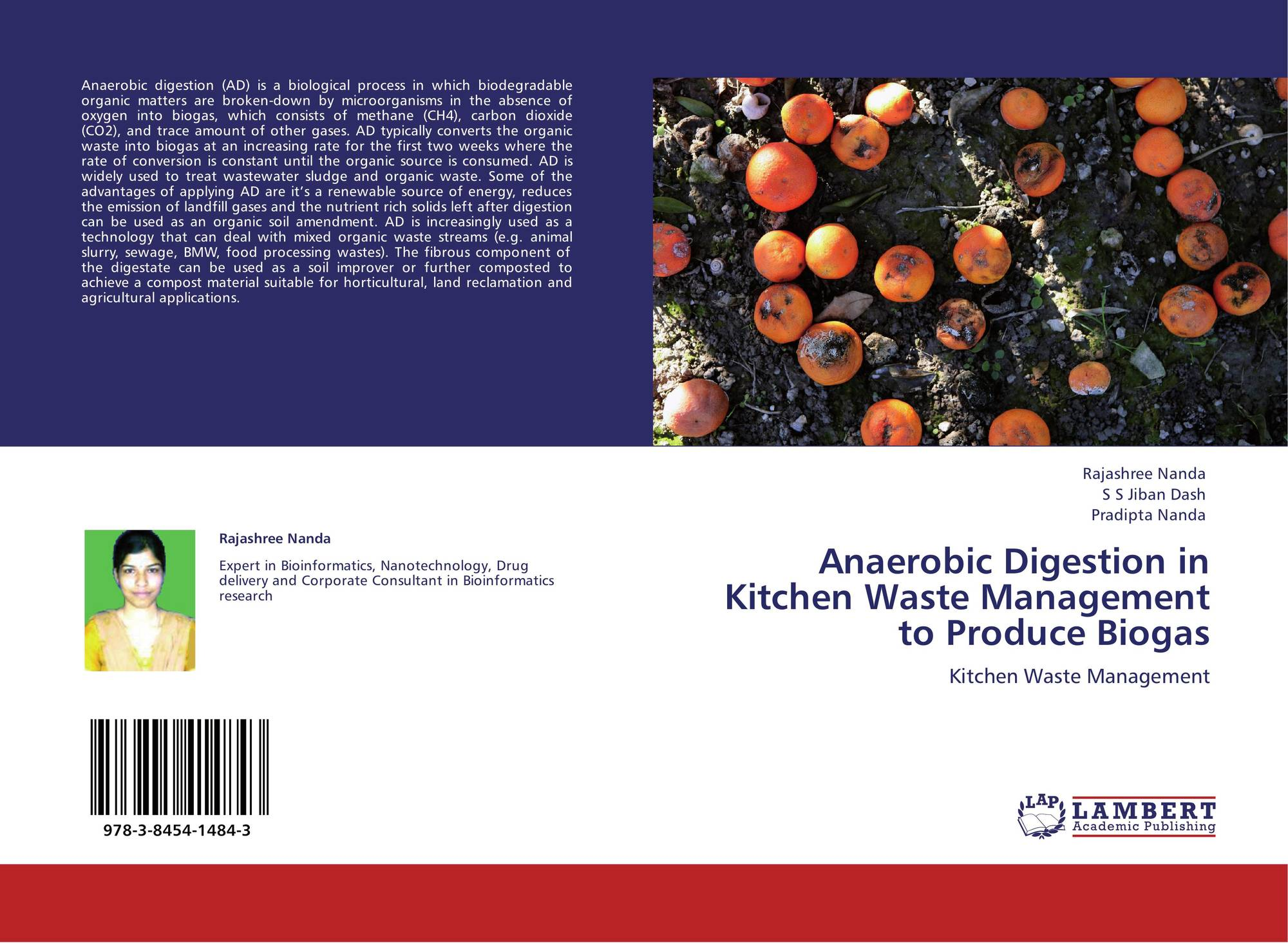 anaerobic digestion on biodegradable waste for