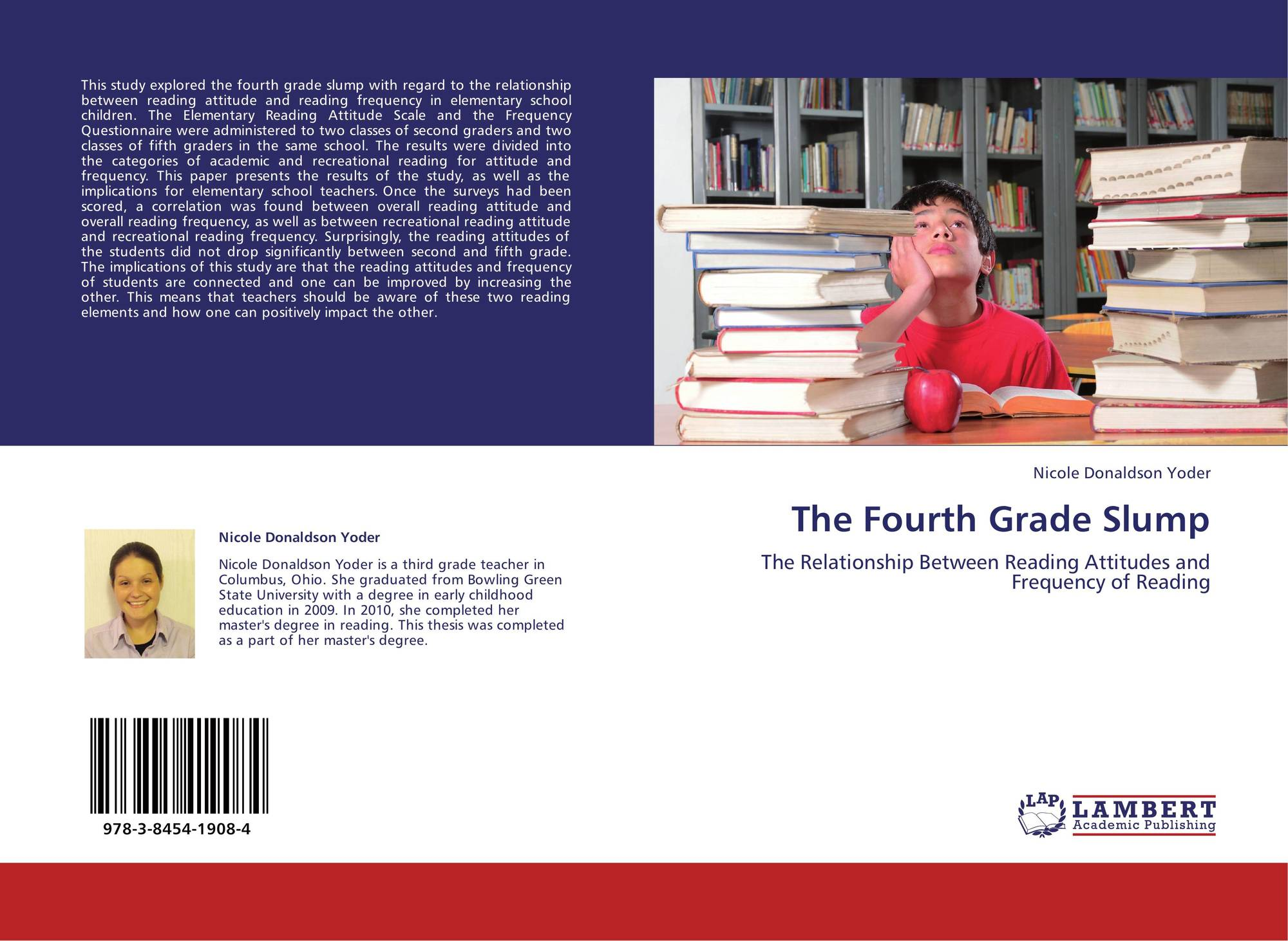 """4th grade slump In """"poor children's fourth-grade slump"""" by jeanne s chall and vicki a jacobs, they did a study on poor children and normative population on six subjects, and they found out that poor children do get affected by the 4th grade slump, because of the low class."""