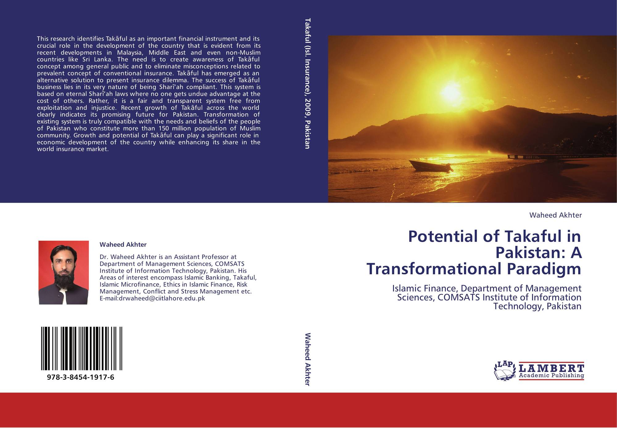 Potential of Takaful in Pakistan: A Transformational Paradigm, 978-3