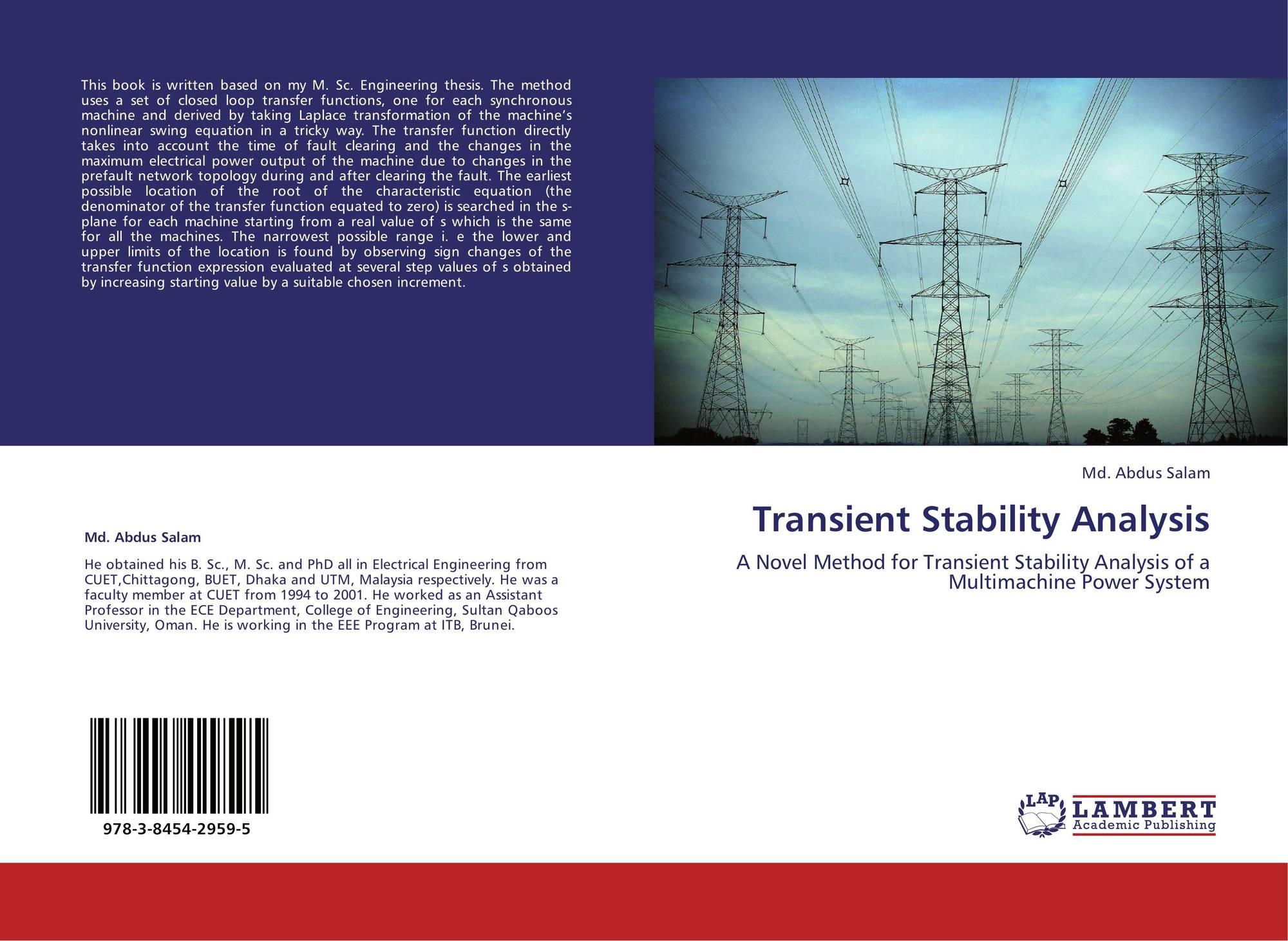 Power System Stability | Electrical4U