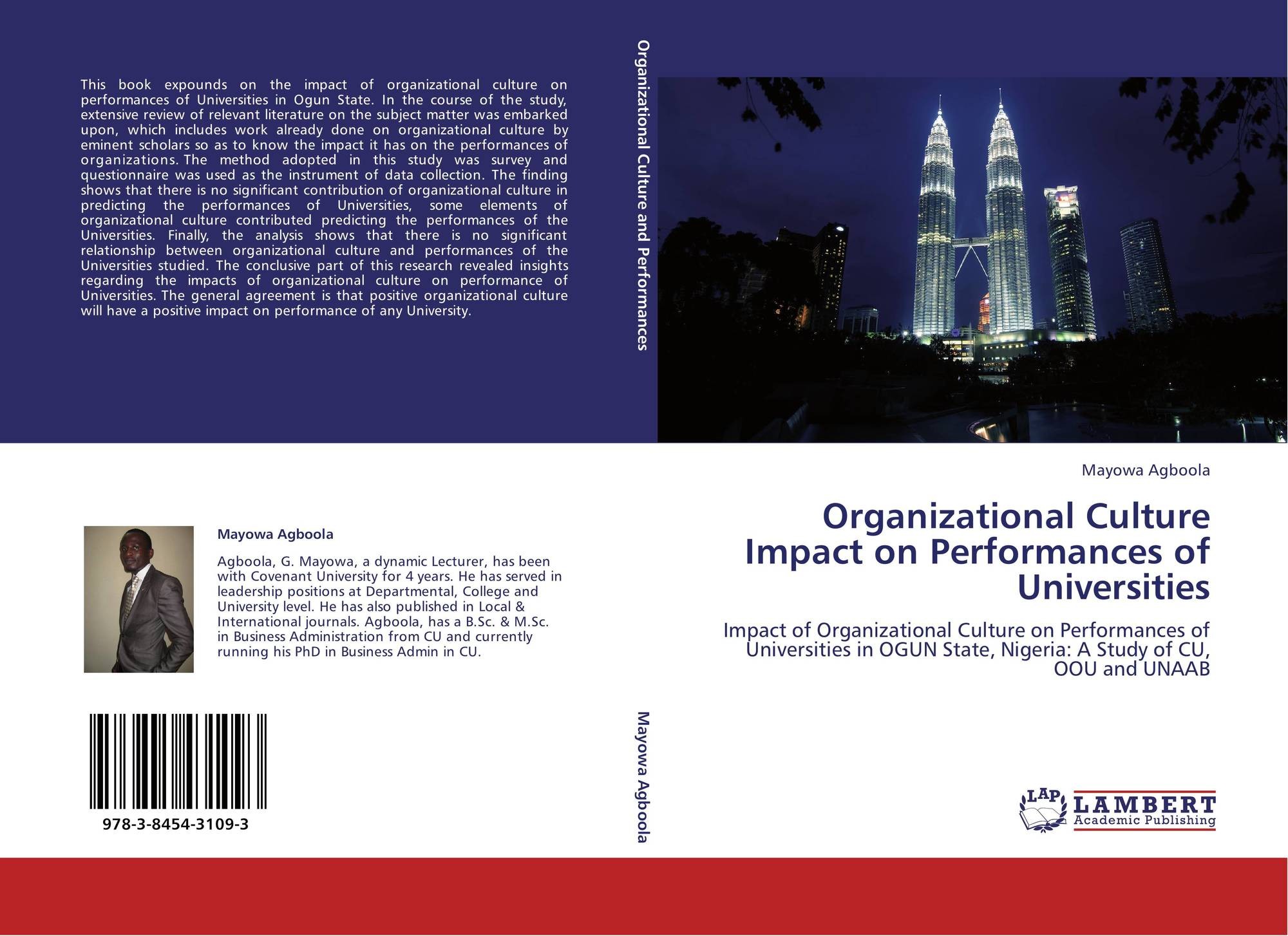 the impact of organizational culture on This paper shows how organizational culture can act as an obstacle to change and problem resolution the introduction describes how the author's interest.