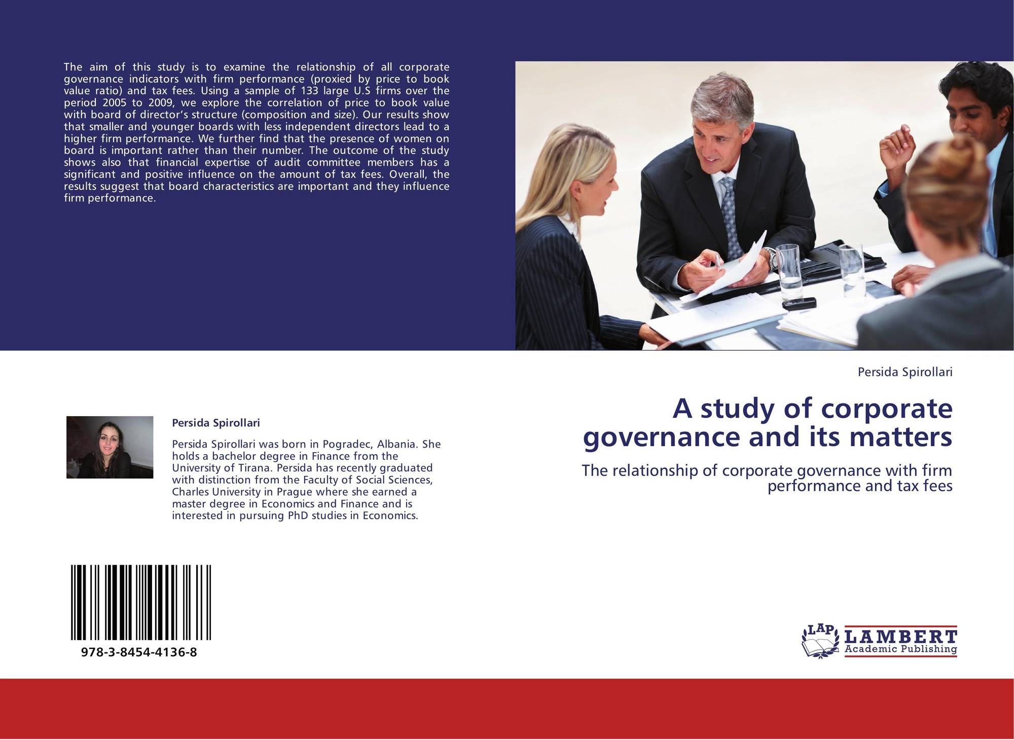 influence of corporate governance over a firms performance Corporate governance and organizational performance in the nigerian banking industry olannye, a peter and anuku david  a company's corporate governance seems to influence its share prices as well as the cost of raising capital  mechanism on firm performance corporate governance failure seems to have heightened over.