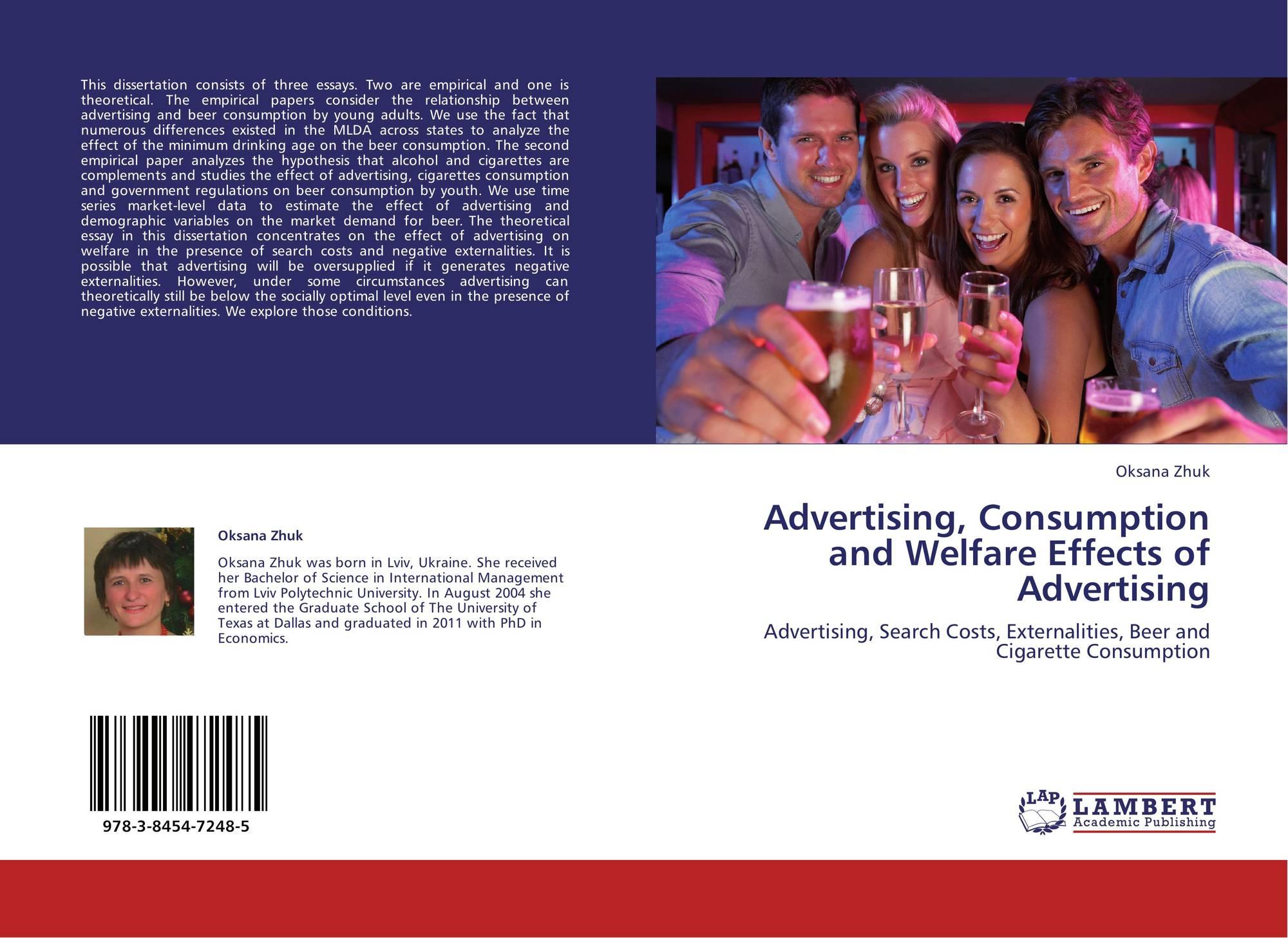 effects of advertising in international marketing essay