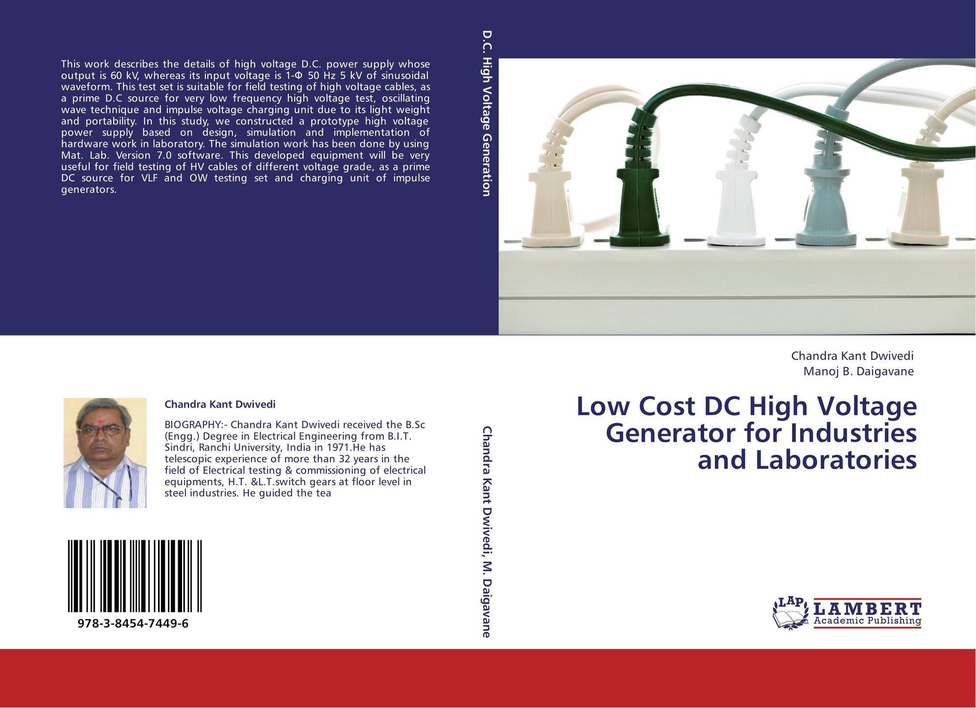Low Cost DC High Voltage Generator for Industries and Laboratories
