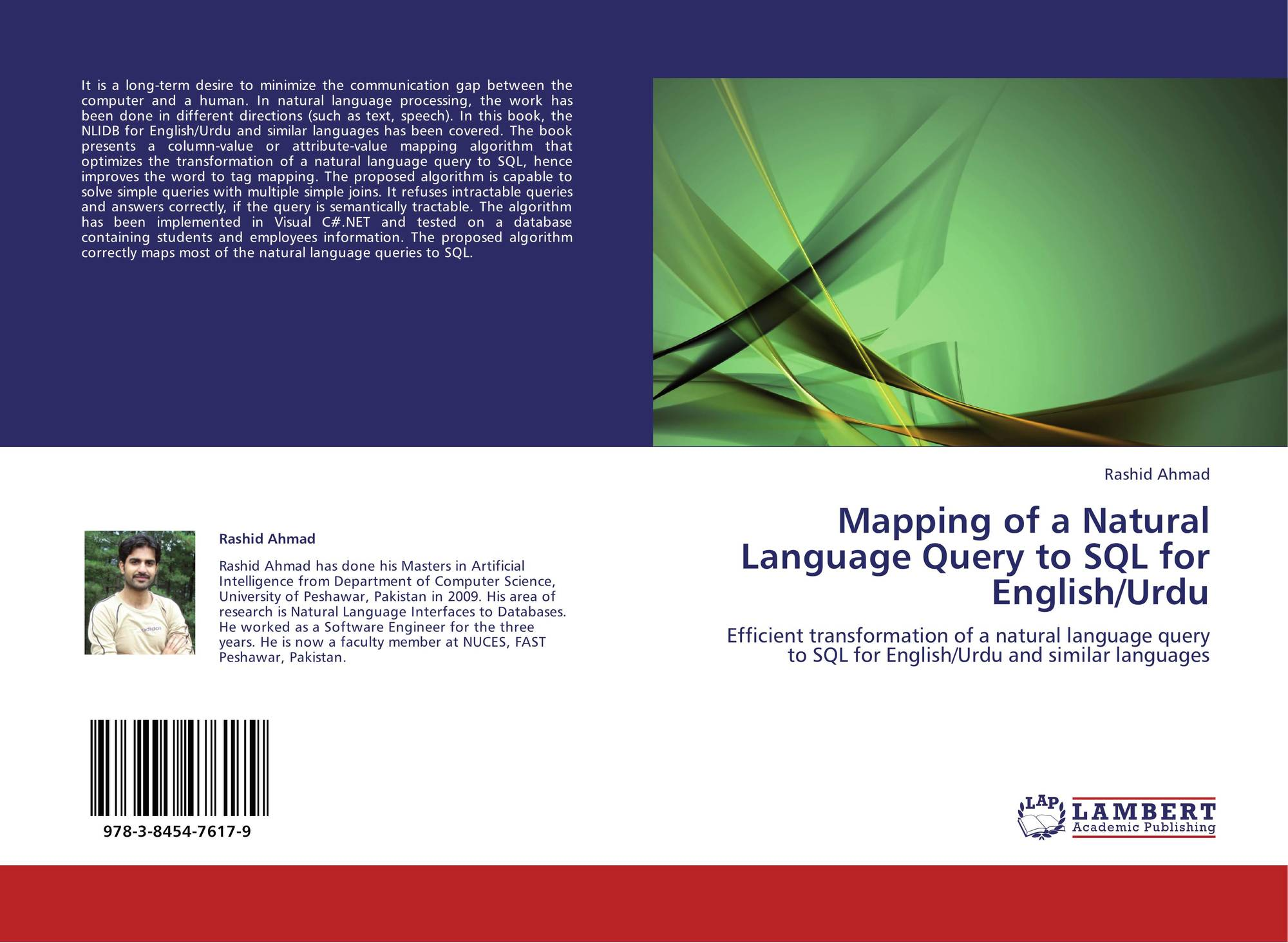Mapping of a Natural Language Query to SQL for English/Urdu