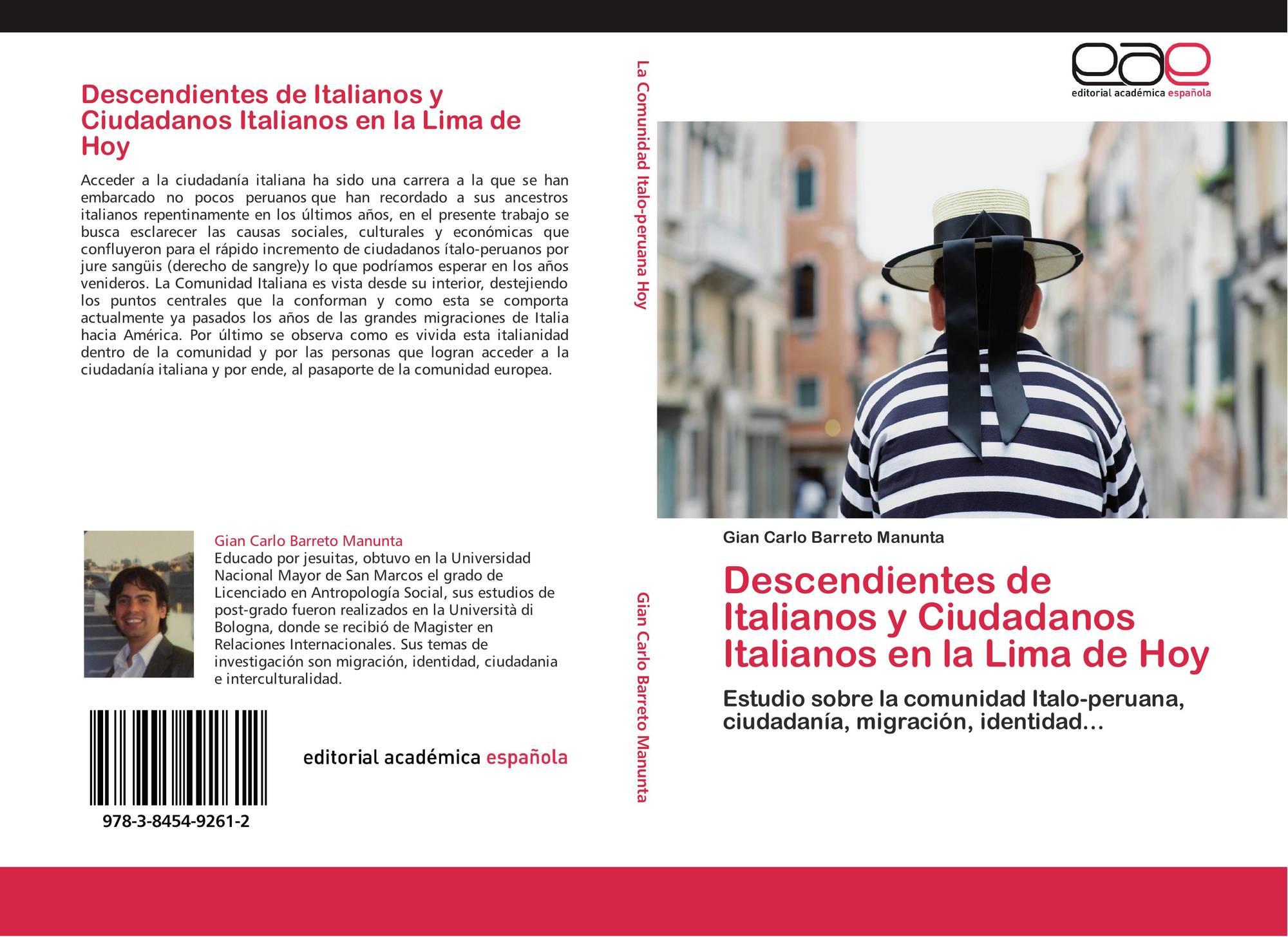 Descendientes de Italianos y Ciudadanos Italianos en la Lima de Hoy ...