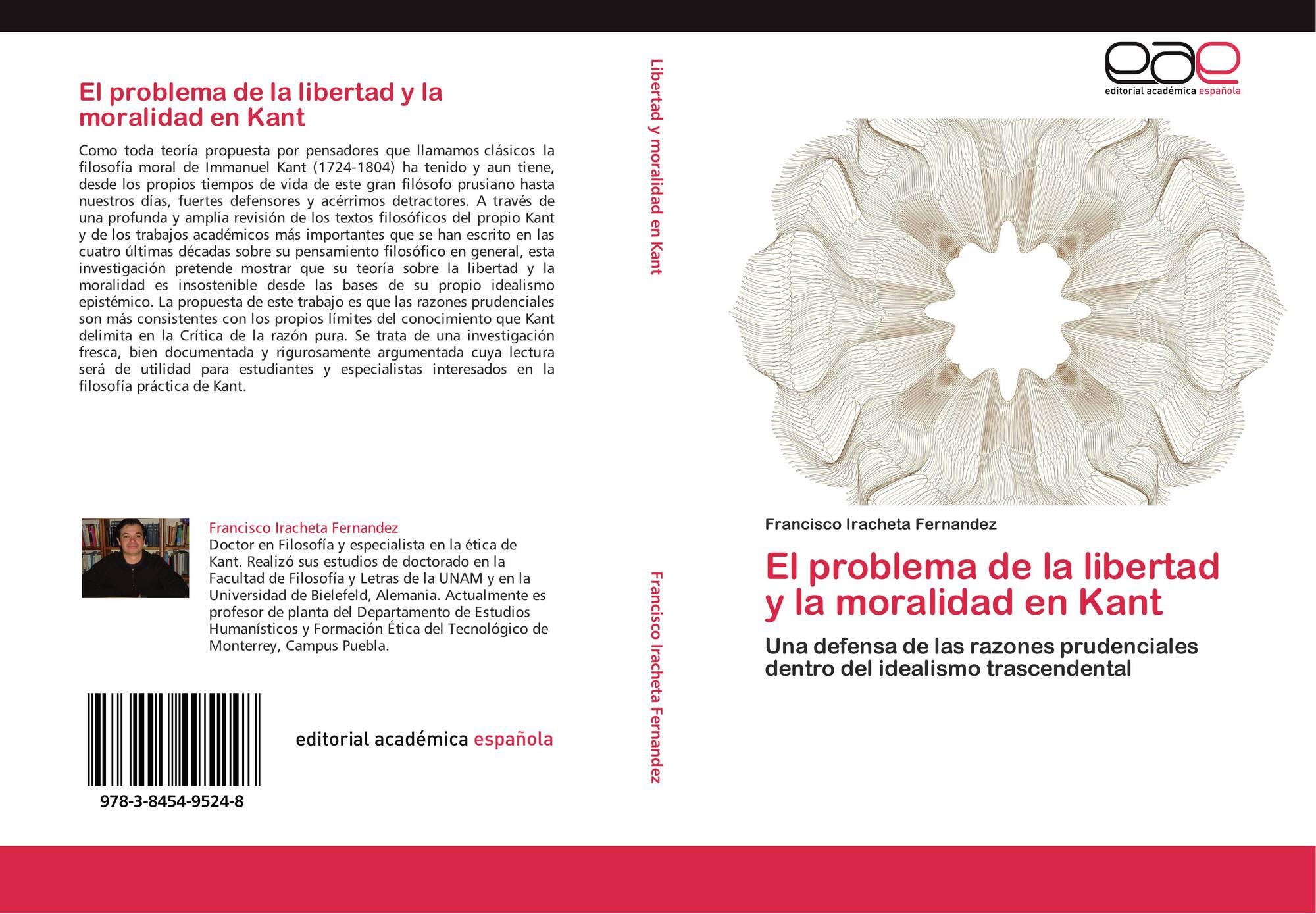El problema de la libertad y la moralidad en kant 978 3 for La libertad interior libro