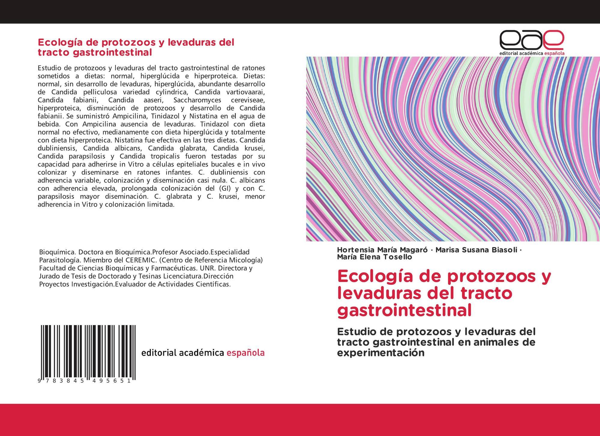 Ecología de protozoos y levaduras del tracto