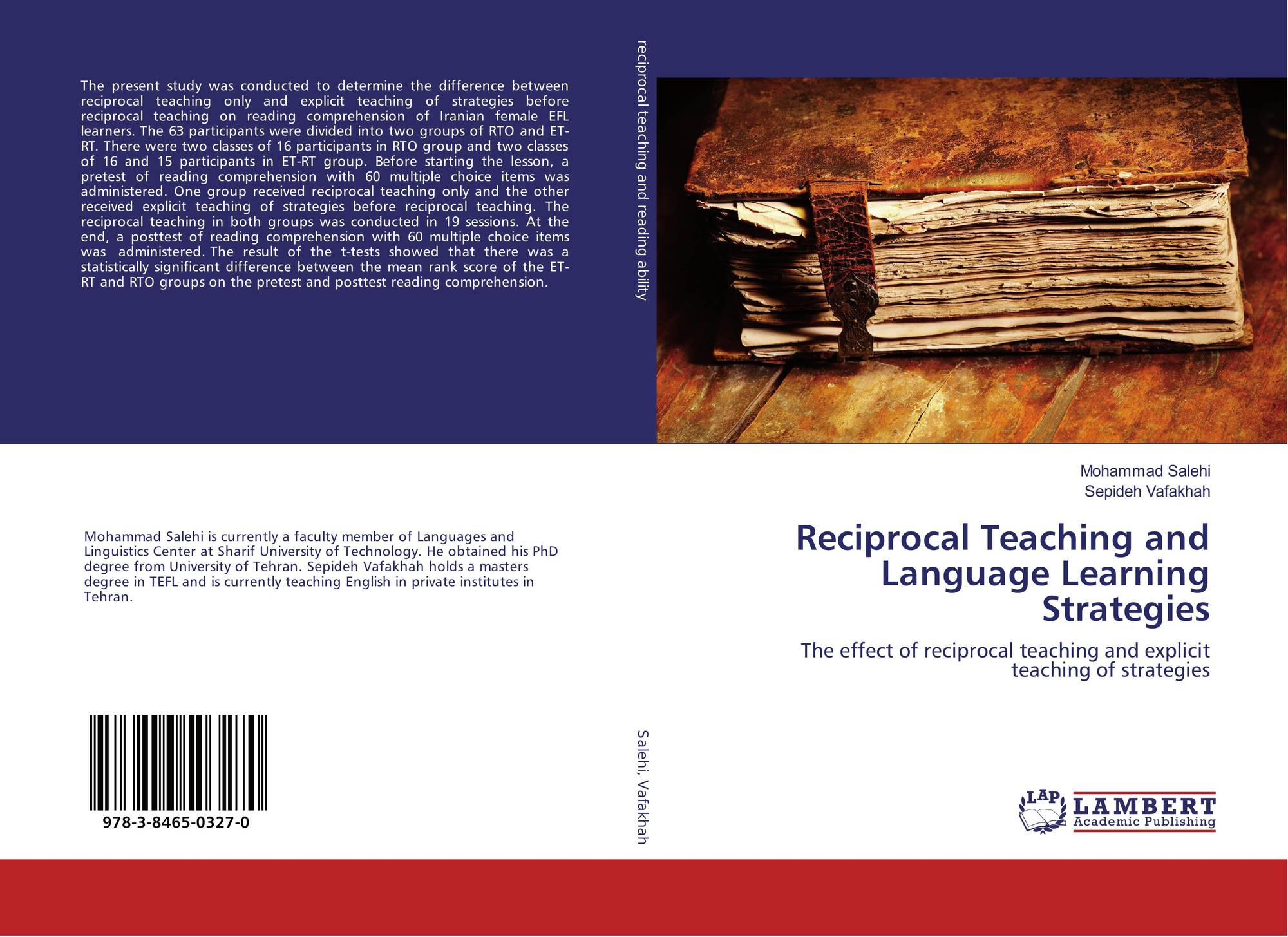 Reciprocal Teaching and Language Learning Strategies, 978-3