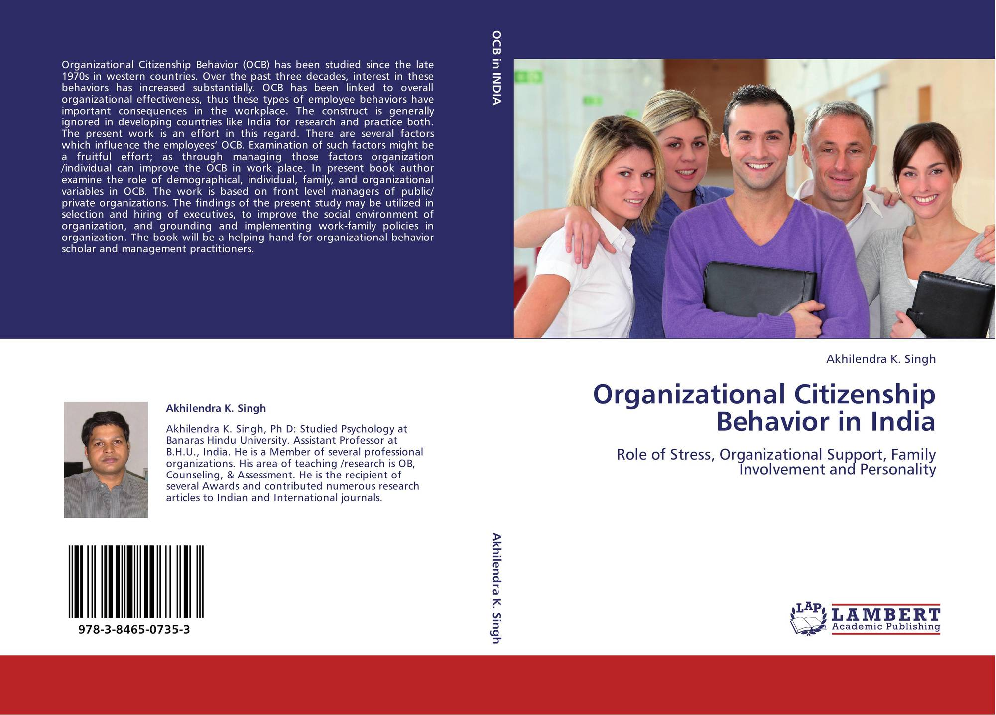 organisational behaviour ocb and cwb Purpose the purpose of this study was to investigate relationships between dimensions of work ethic and dimensions of organizational citizenship behavior (ocb) and.