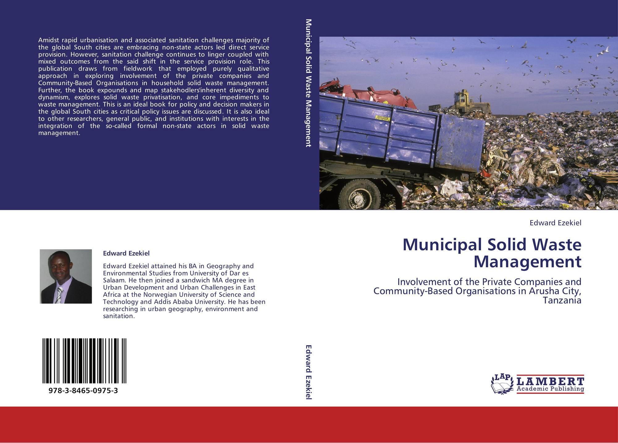 Municipal Solid Waste Management, 978-3-8465-0975-3